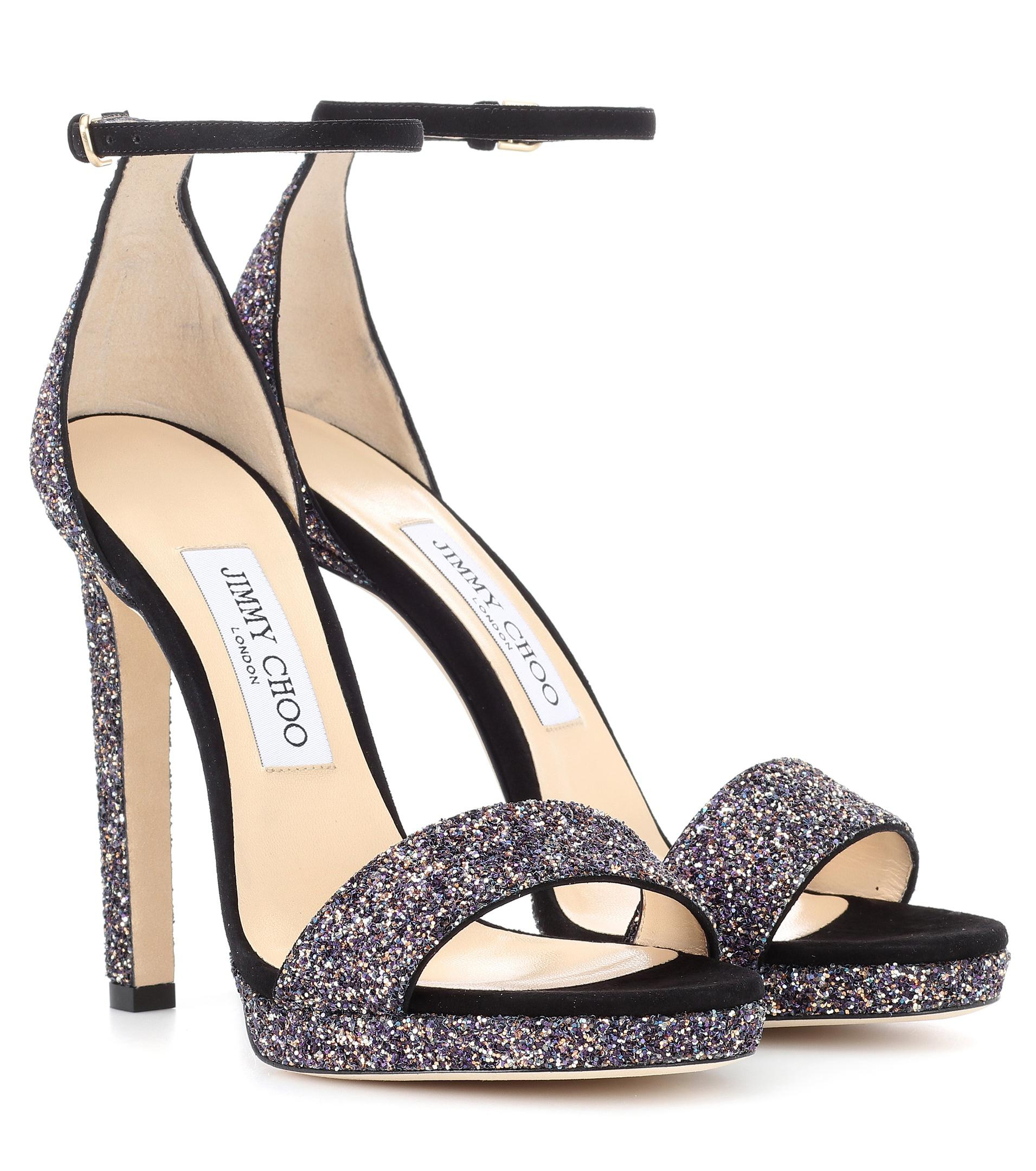 4cdac6e246d Gallery. Previously sold at  Mytheresa · Women s Jimmy Choo Glitter ...