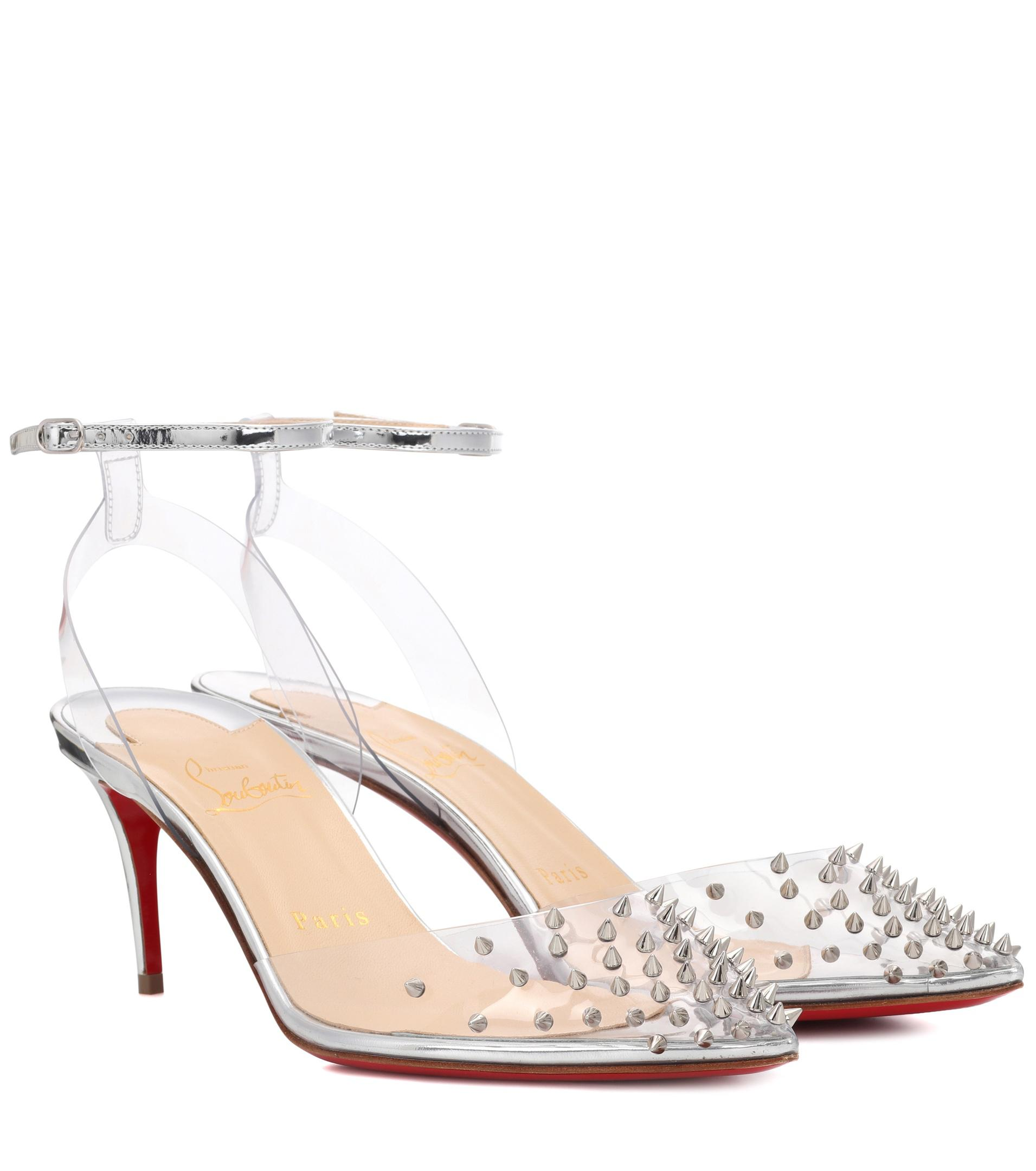 Christian Louboutin Spikoo 70 embellished pumps W2eiDED