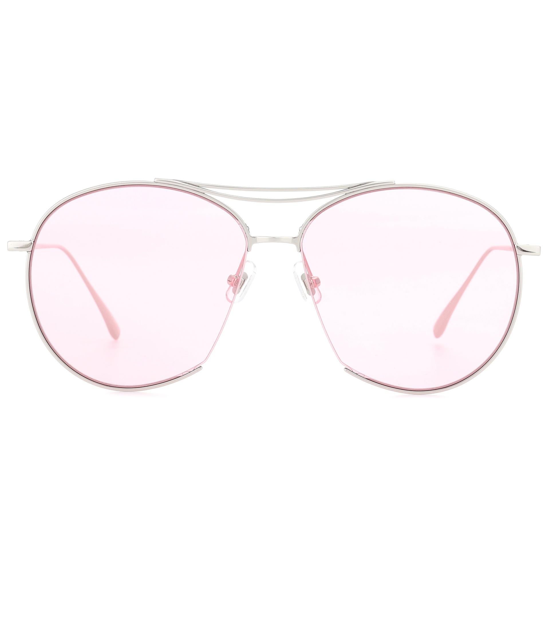 f0e0d73a9d7 Gentle Monster Jumping Jack Aviator Sunglasses in Pink - Lyst