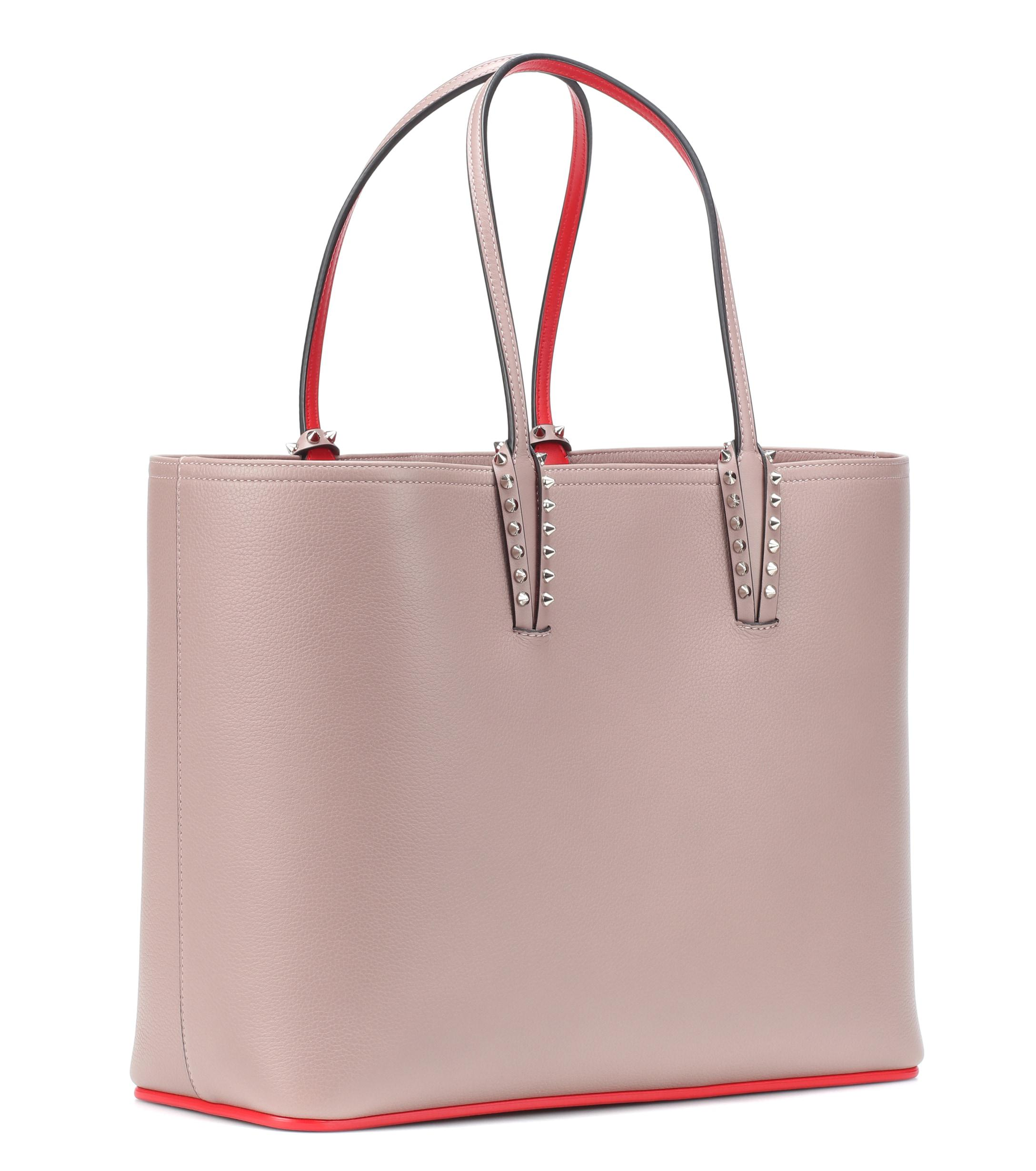 Christian Louboutin - Multicolor Cabata Leather Tote - Lyst. View fullscreen 7ee407f198970