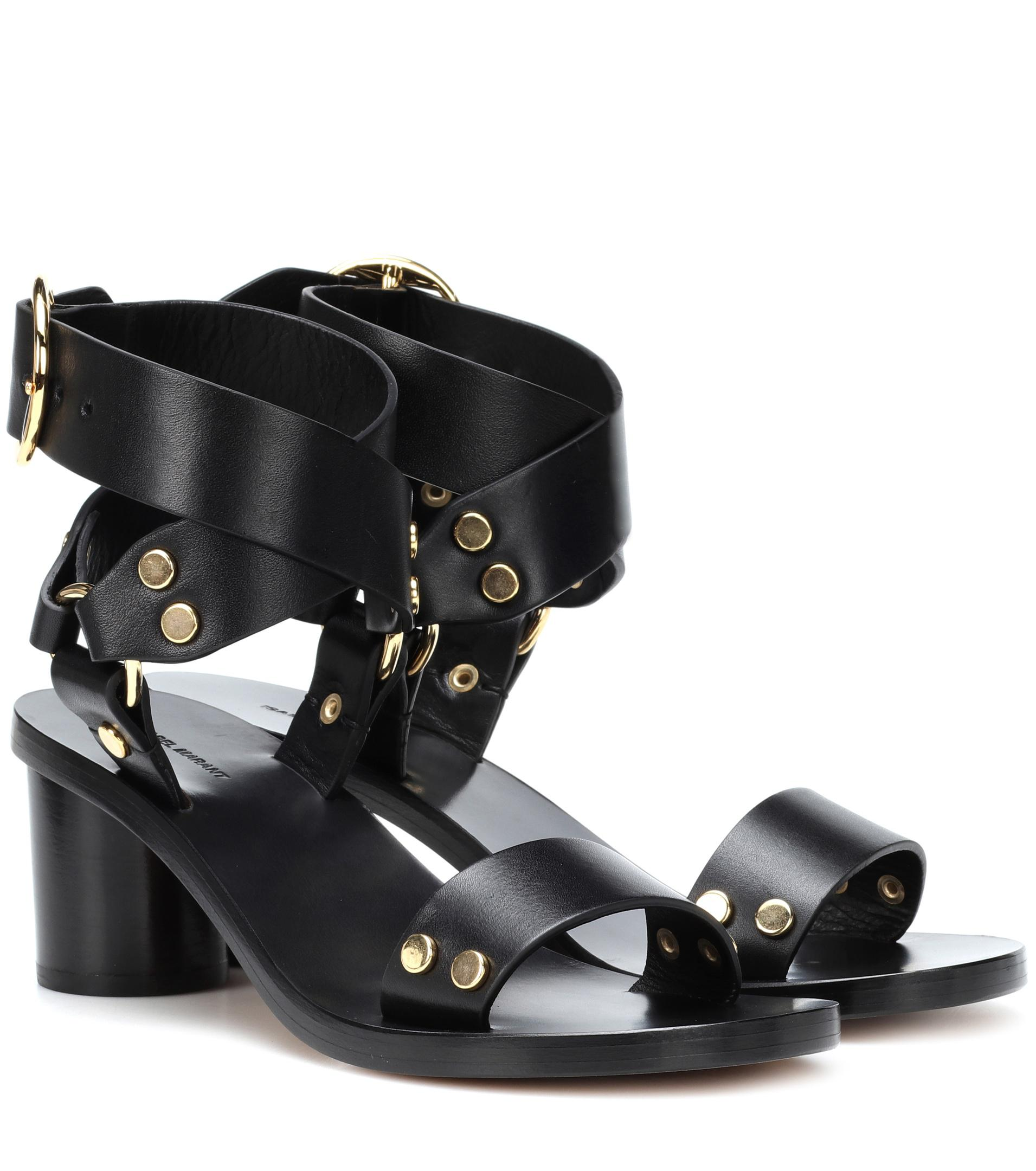 cheap sale authentic 2014 unisex for sale Isabel Marant Jeyka leather sandals cheap sale with mastercard RcBdt5e