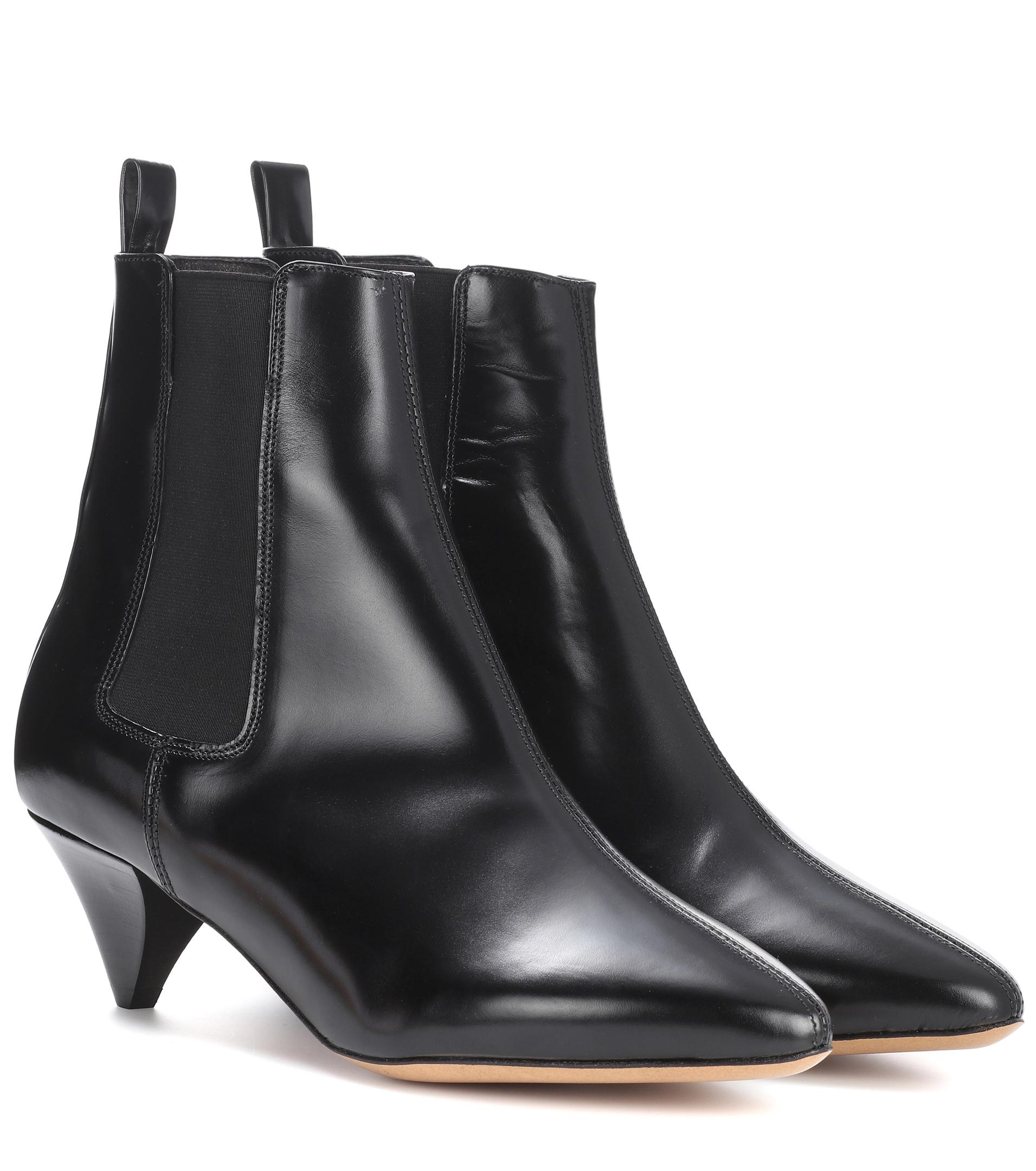 Isabel Marant Black Dawell Boots ILUE0T52Fd