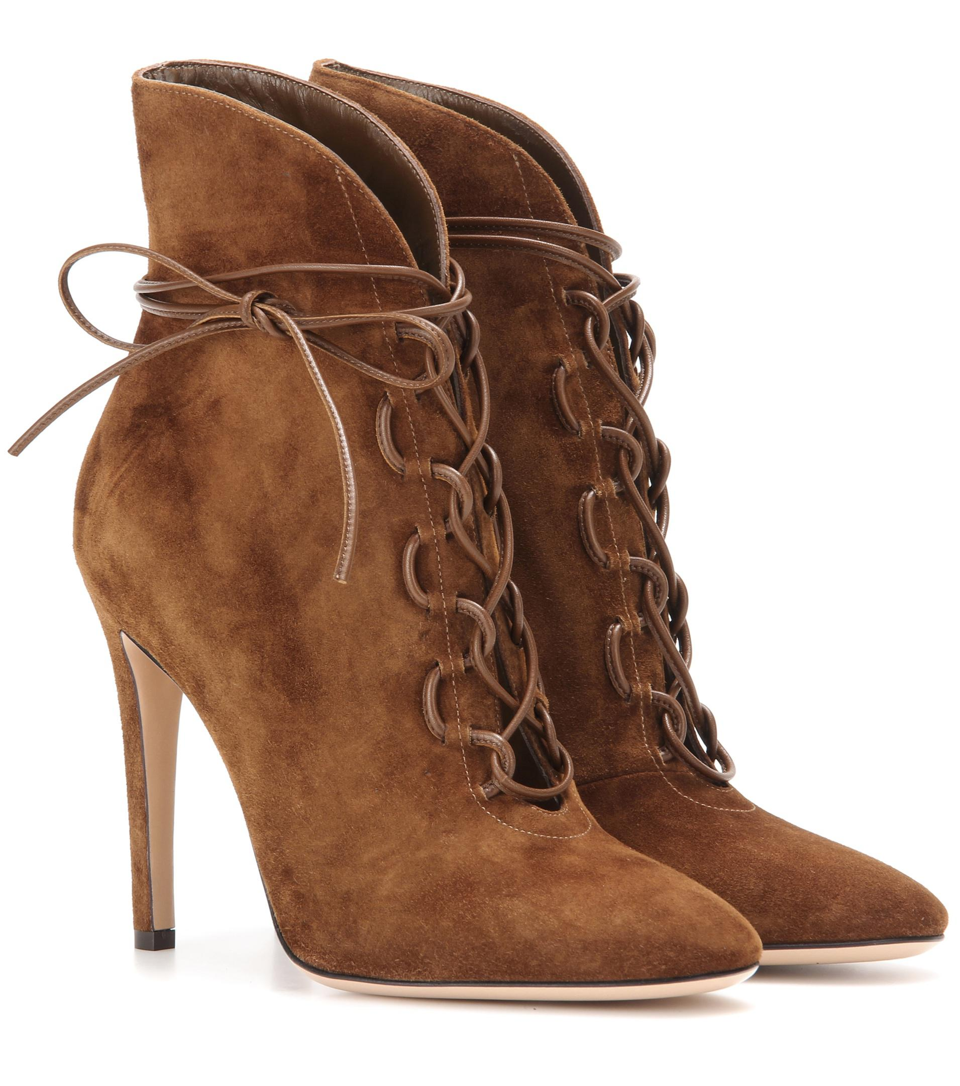 Gianvito Rossi Martis 20 suede ankle boots oVJhGmQ