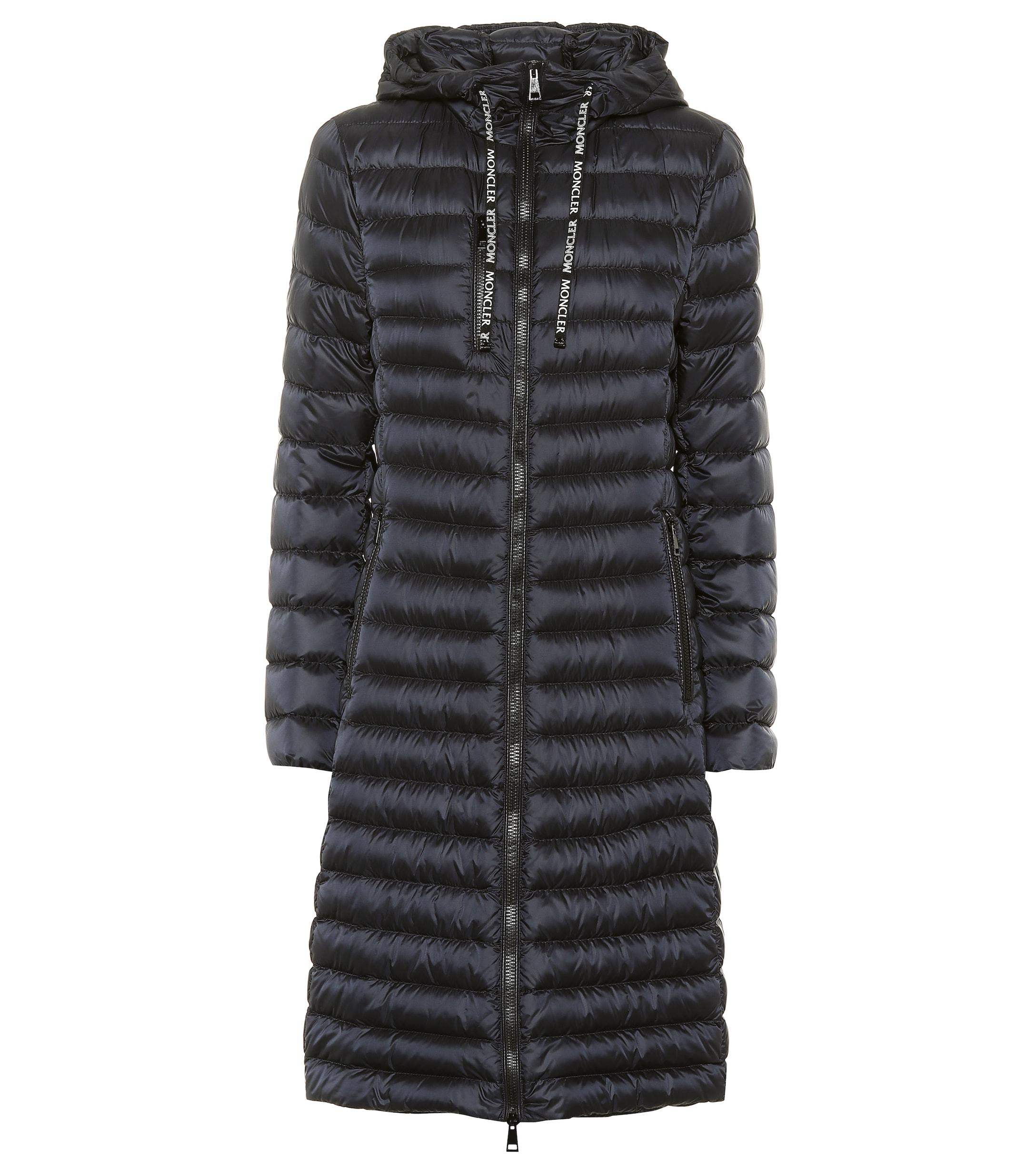 605e8cd6b65f Lyst - Moncler Suvette Quilted Down Coat in Blue