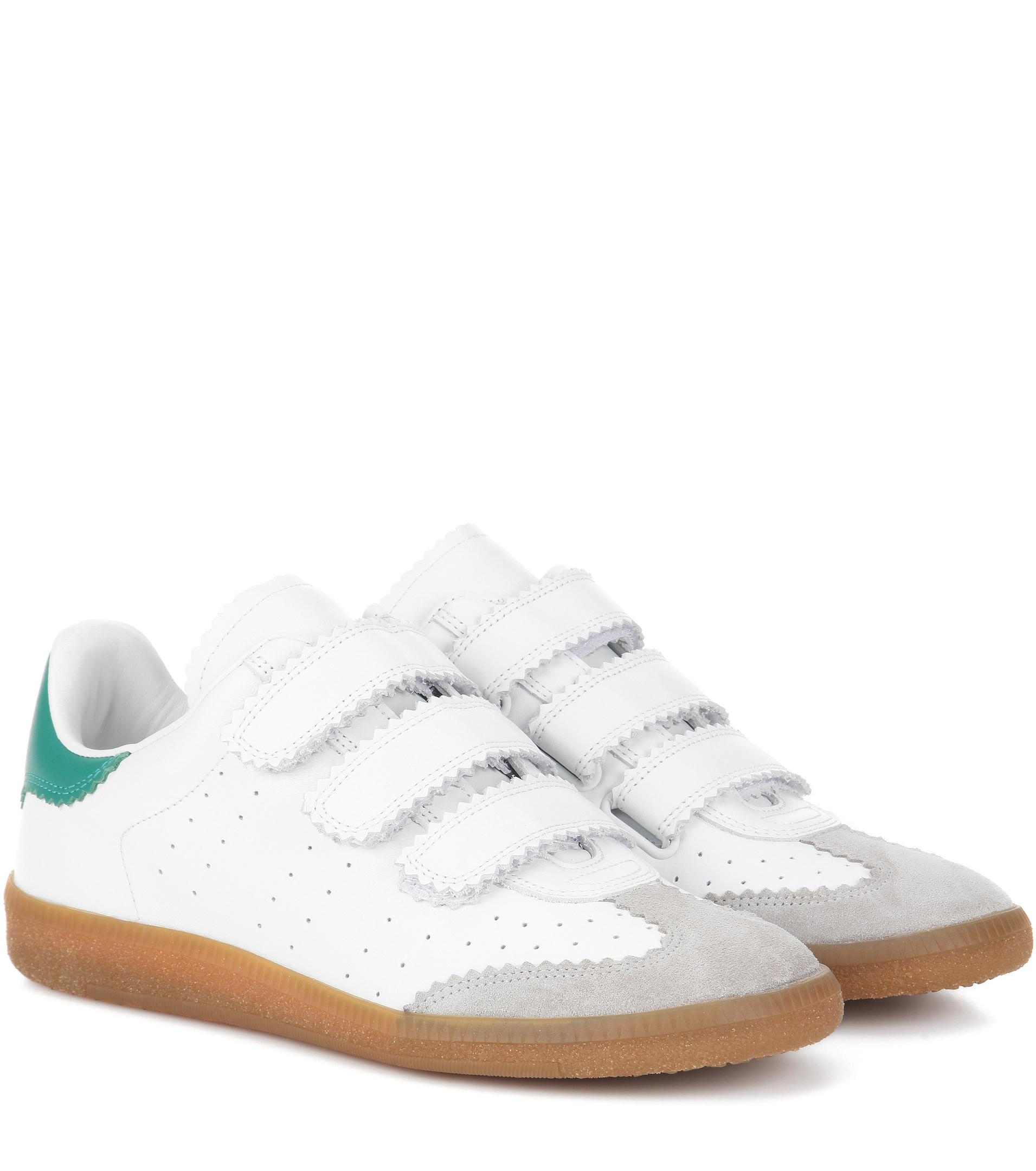 Isabel Marant ‰ Ã Sneakers Matériau Toile Mix - Blanc XeEnCZGjF