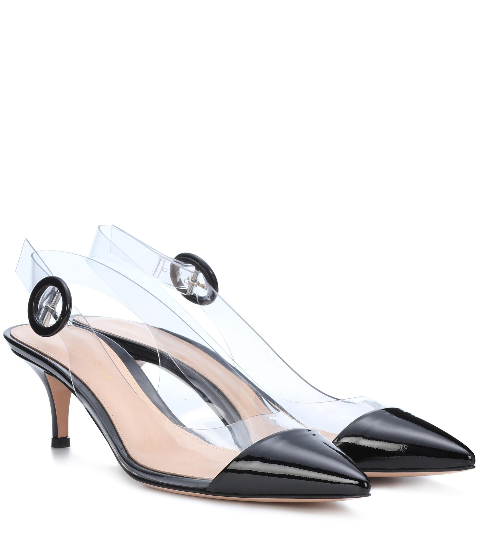 outlet fashionable Gianvito Rossi Alice slingback patent leather pumps cheap for sale wiki online pictures online high quality sale online 1fFNYSjVmC