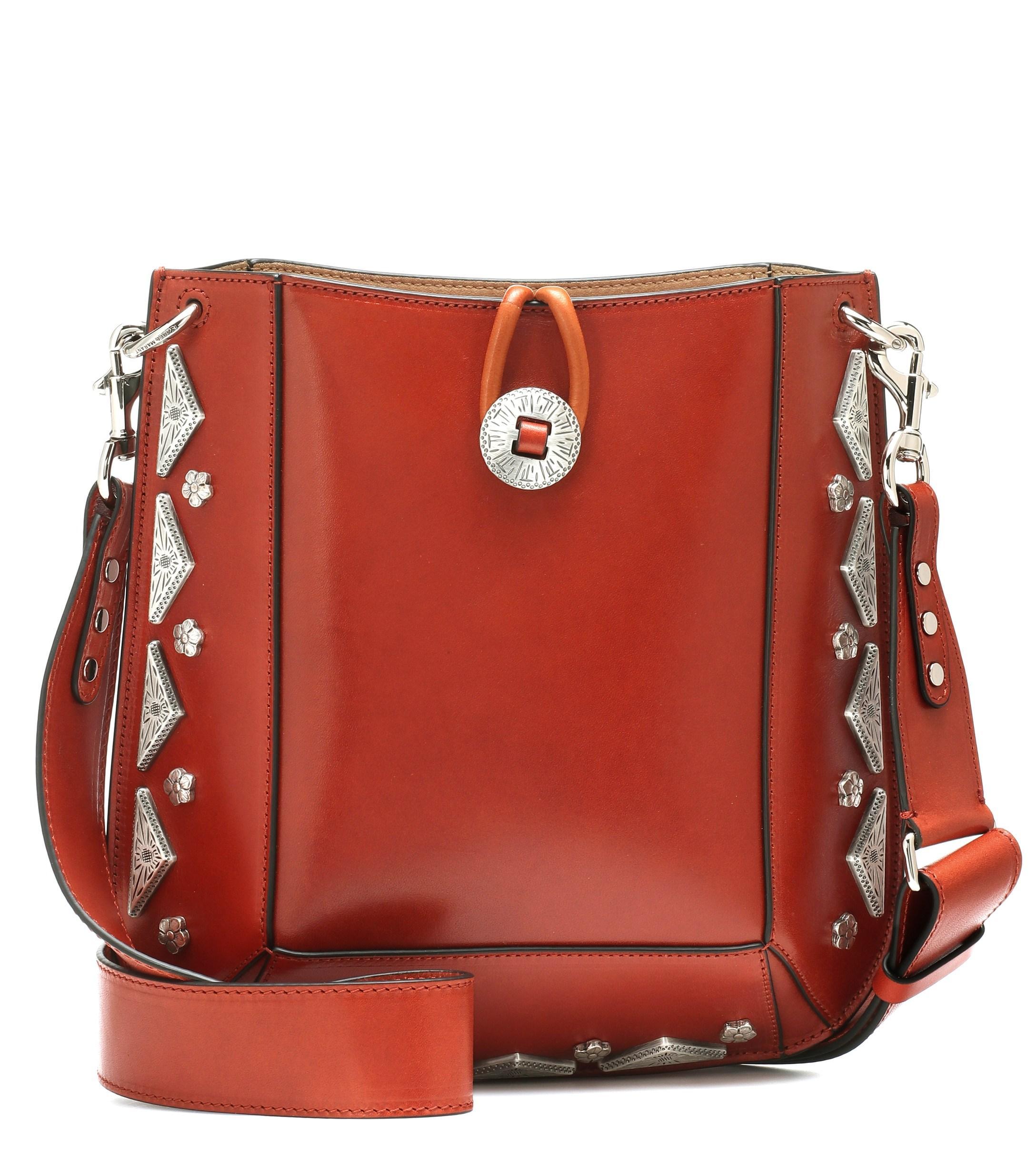 60bfc20ee0 Isabel Marant - Multicolor Oskana Small Leather Shoulder Bag - Lyst. View  fullscreen