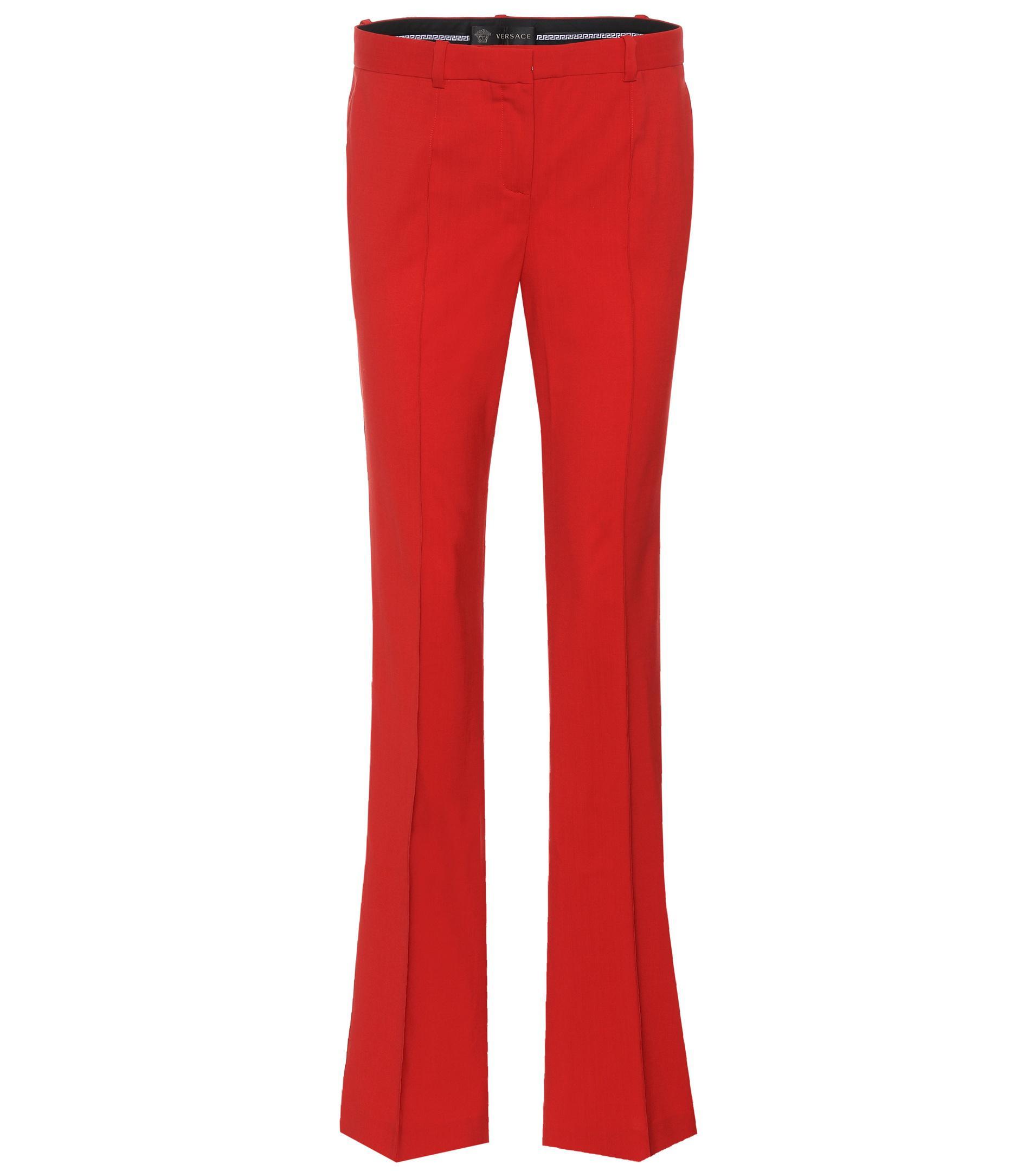 Cheap Sale Outlet Store Shop Your Own Straight-leg trousers Versace Wholesale Price Sale Online 4szqcQuO
