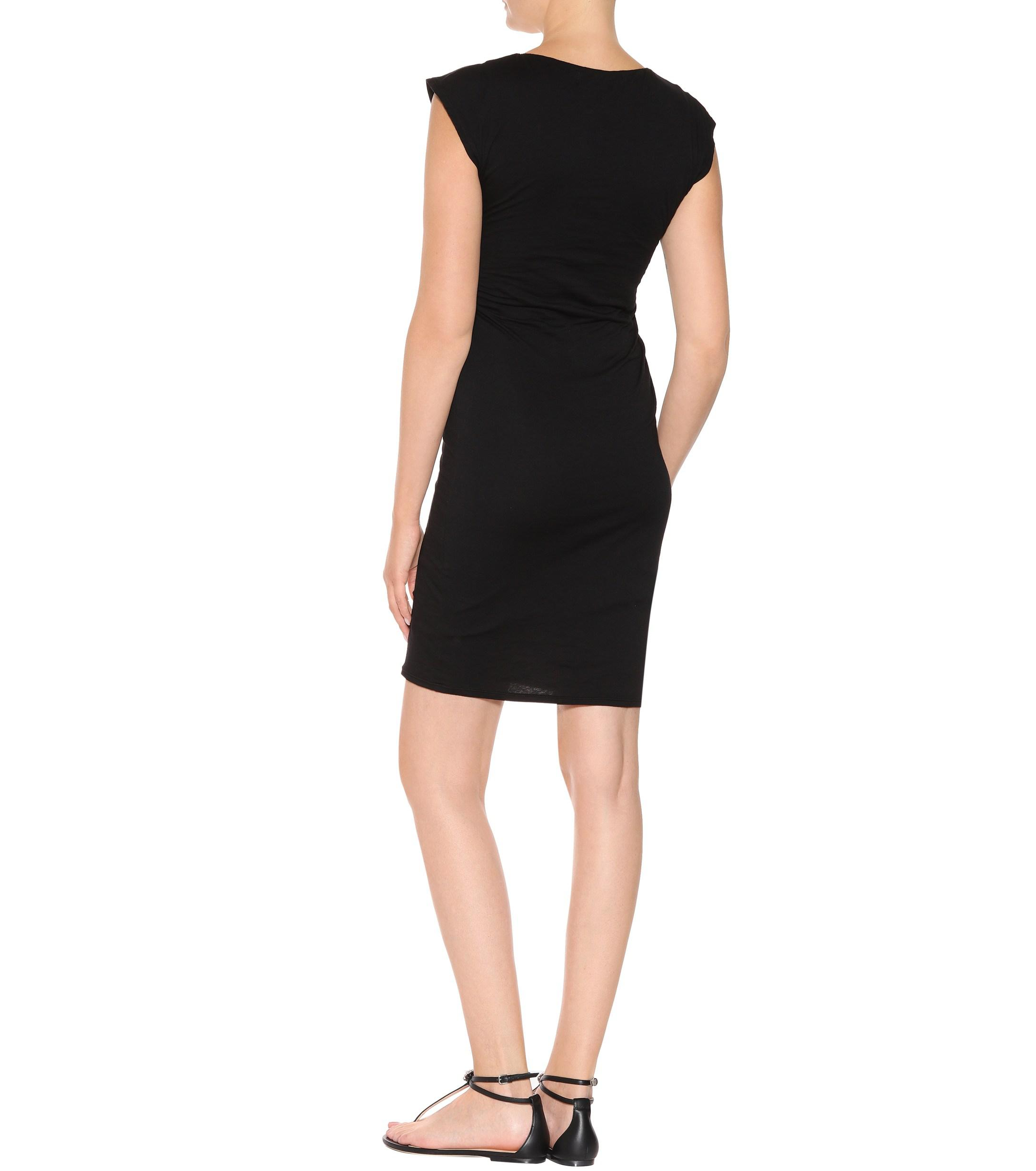 5d60dfac98c7 velvet-designer-black-Vittoria-Stretch-cotton-Dress.jpeg