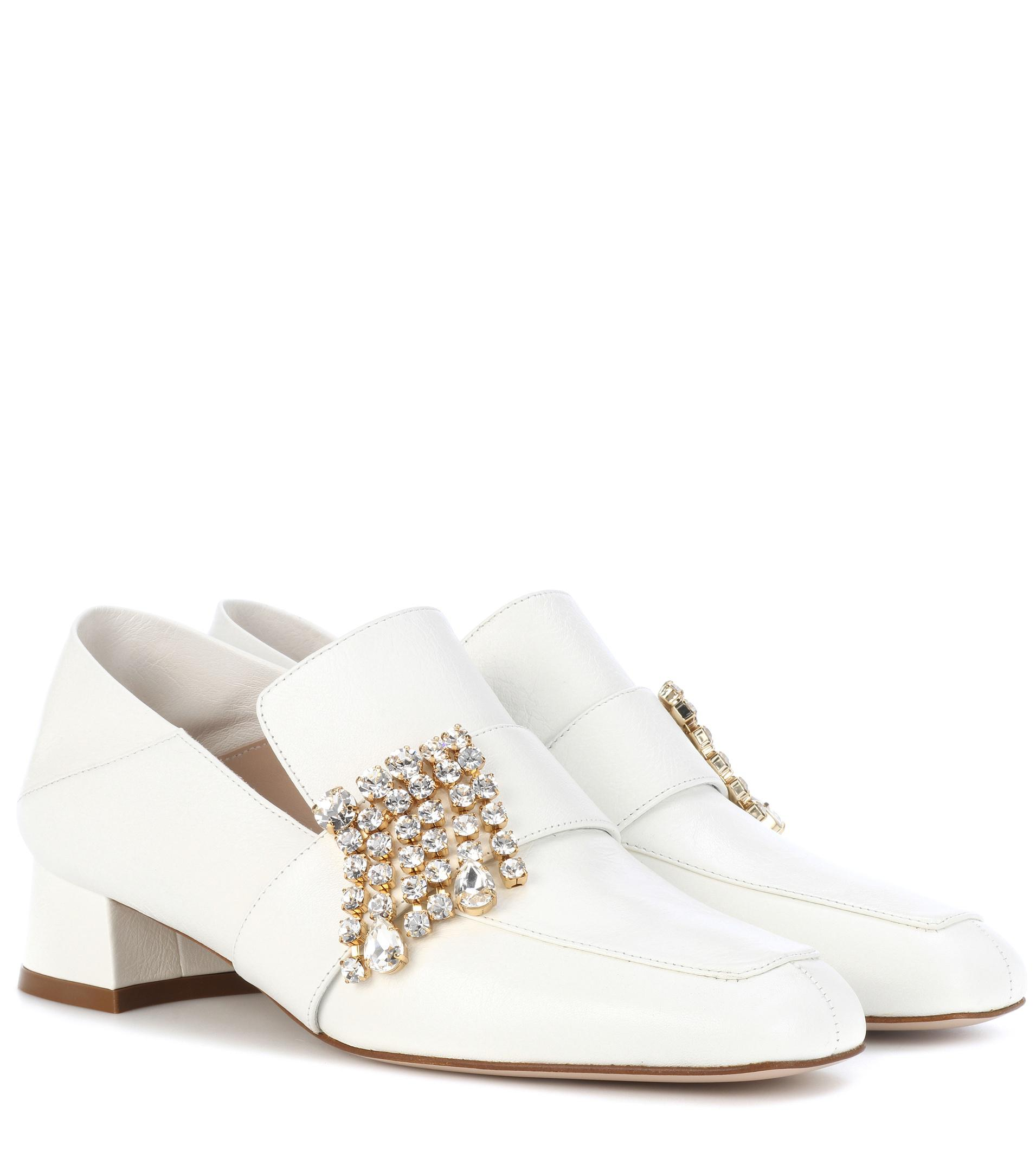 Stuart Weitzman Irises leather loafers eastbay cheap price for cheap new styles cheap online free shipping pay with paypal 4sACNgV7