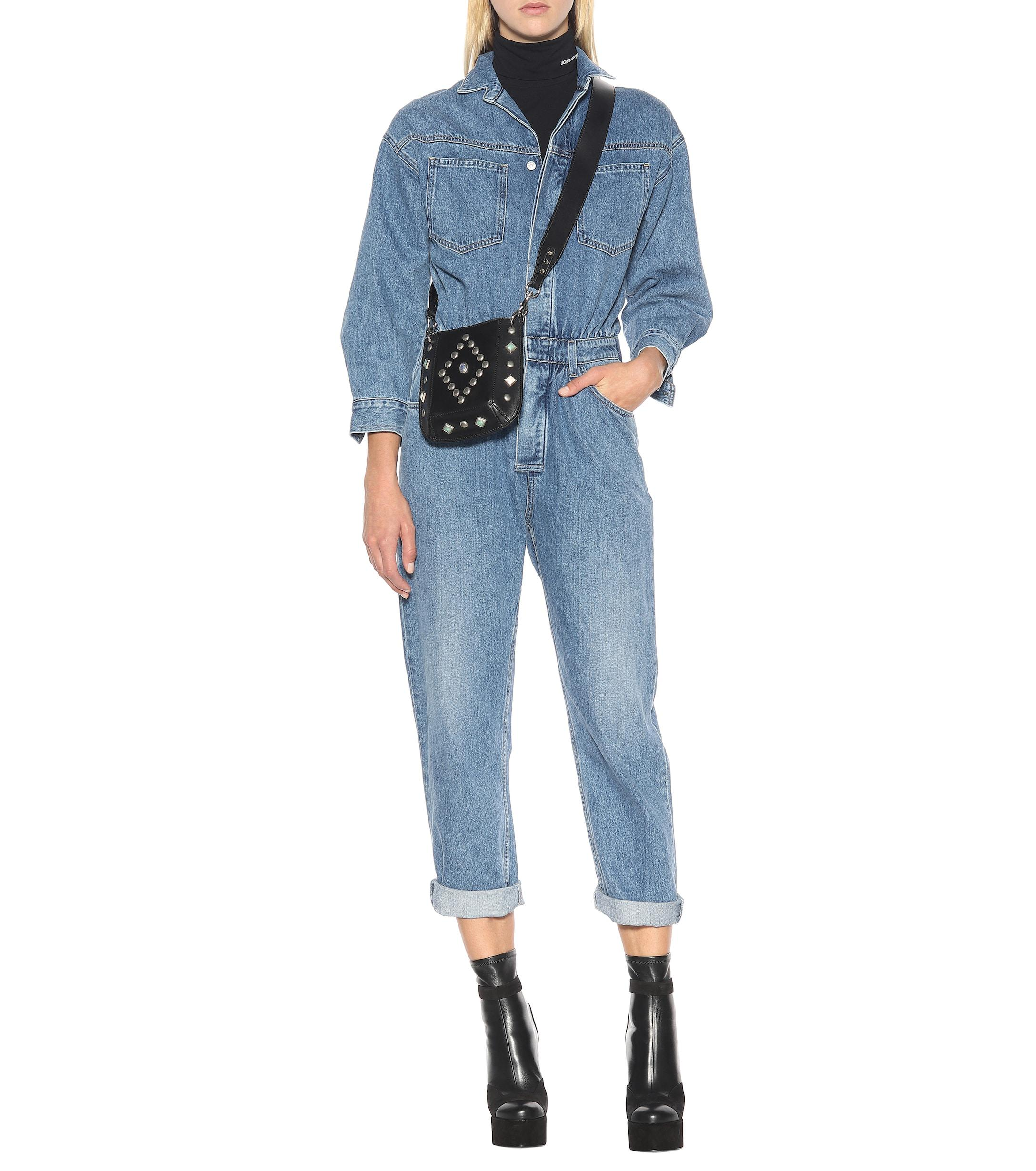49d831f7aed8 Citizens of Humanity - Blue Amber Denim Jumpsuit - Lyst. View fullscreen