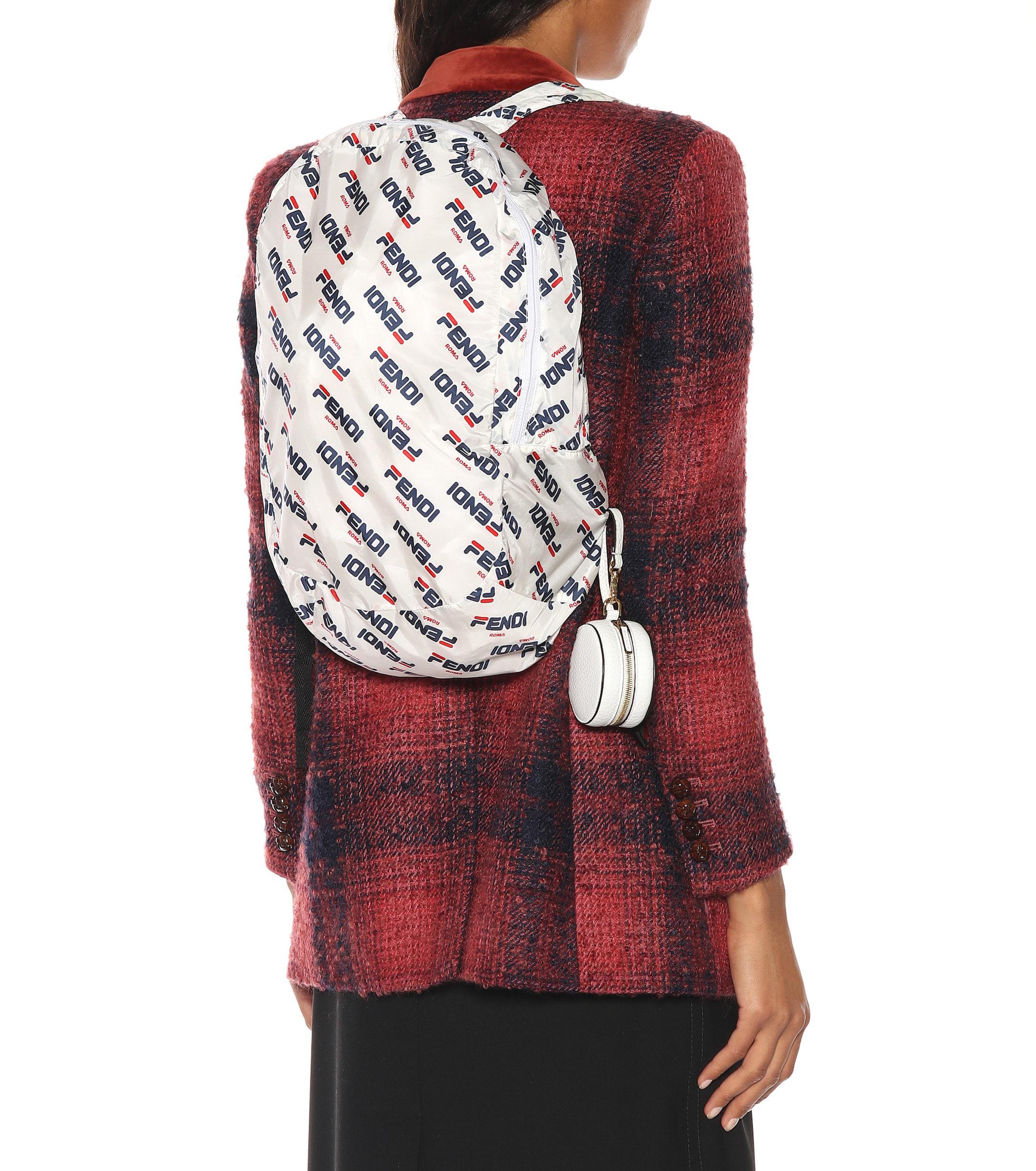 Fendi - Multicolor Mania Leather Backpack Charm - Lyst. View fullscreen d88d512c34fae