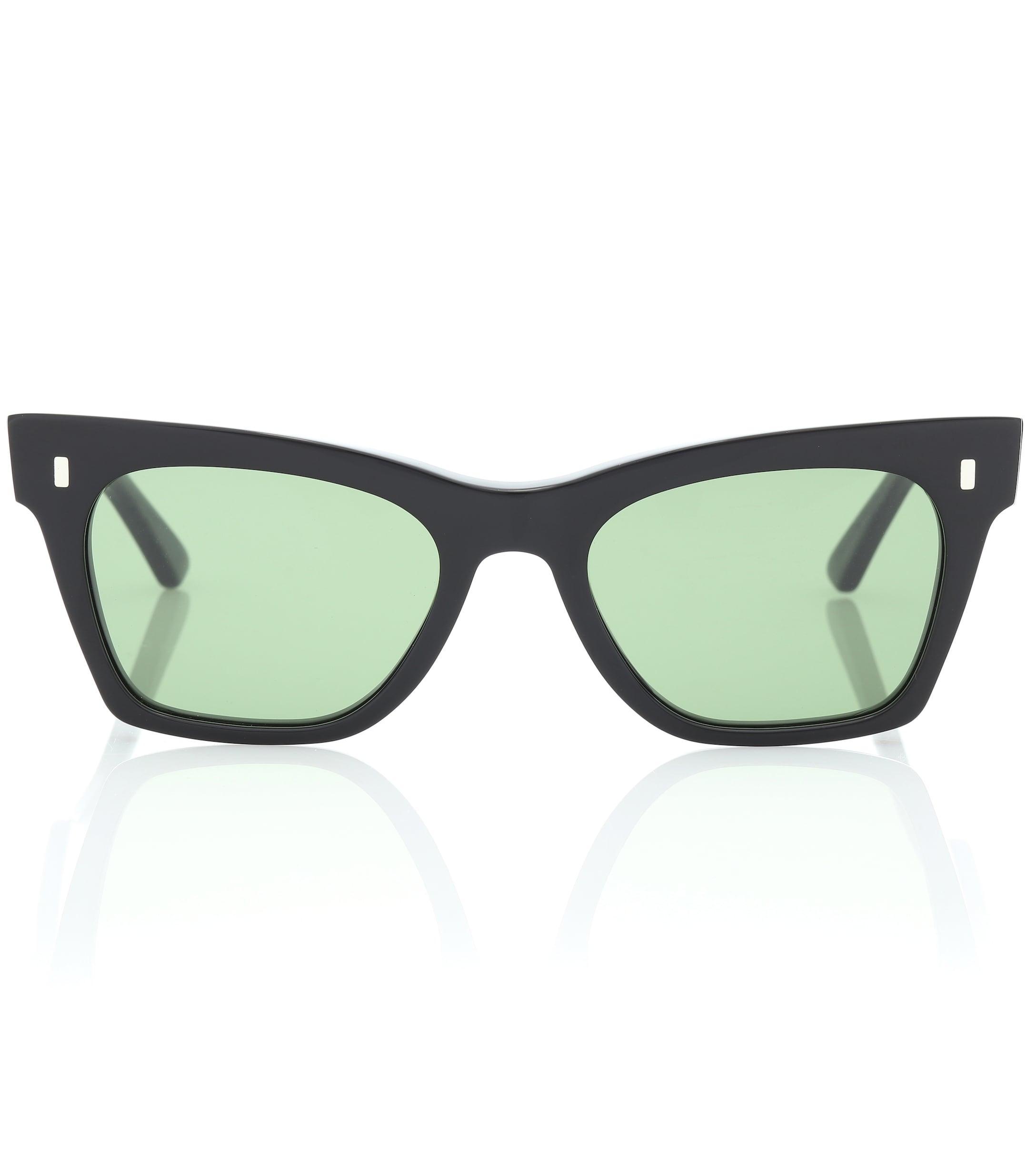 d1025a2ea2 Gafas de sol cat-eye rectangulares Céline de color Negro - Lyst