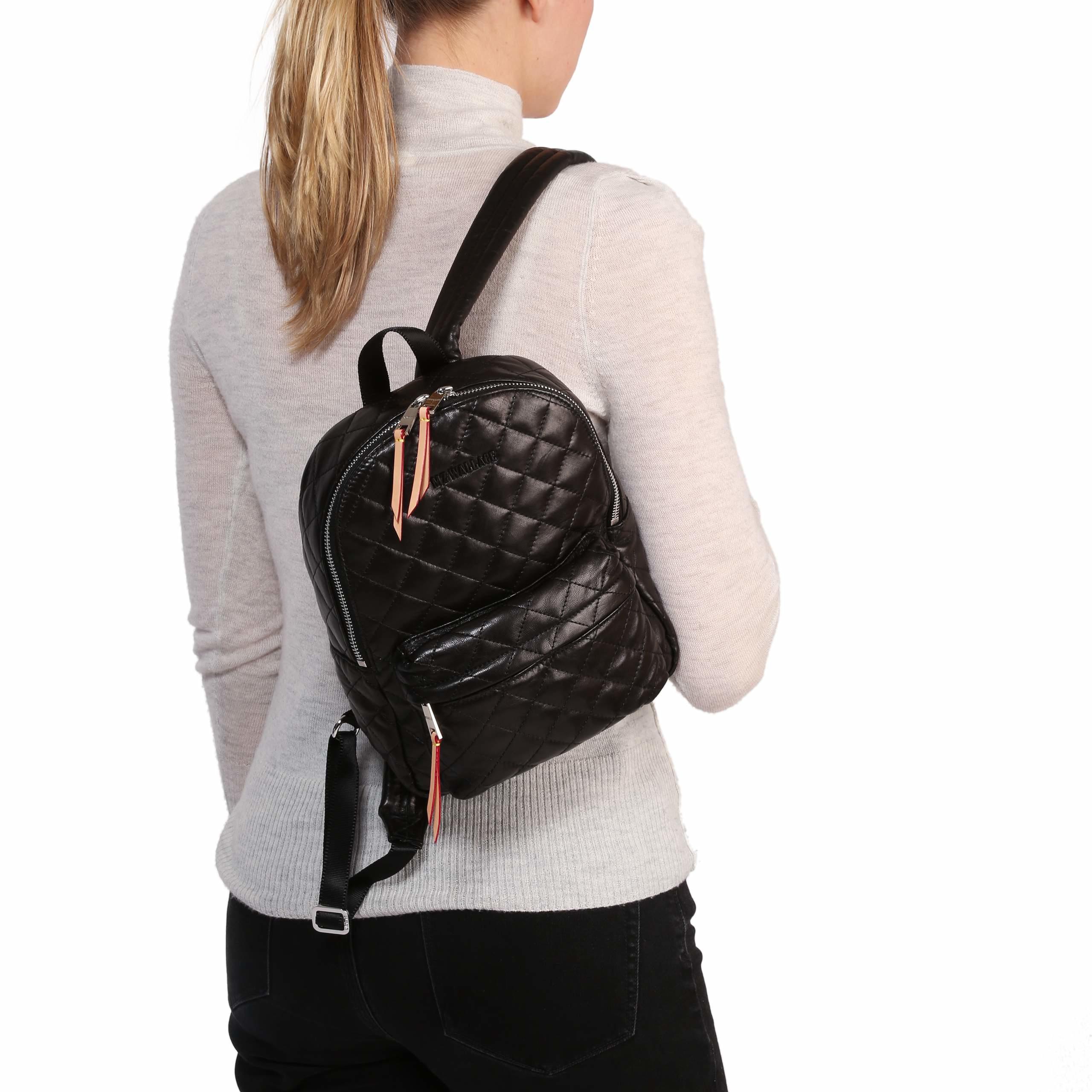 4c45867d4db0 MZ Wallace Metro Backpack - Black in Black - Lyst