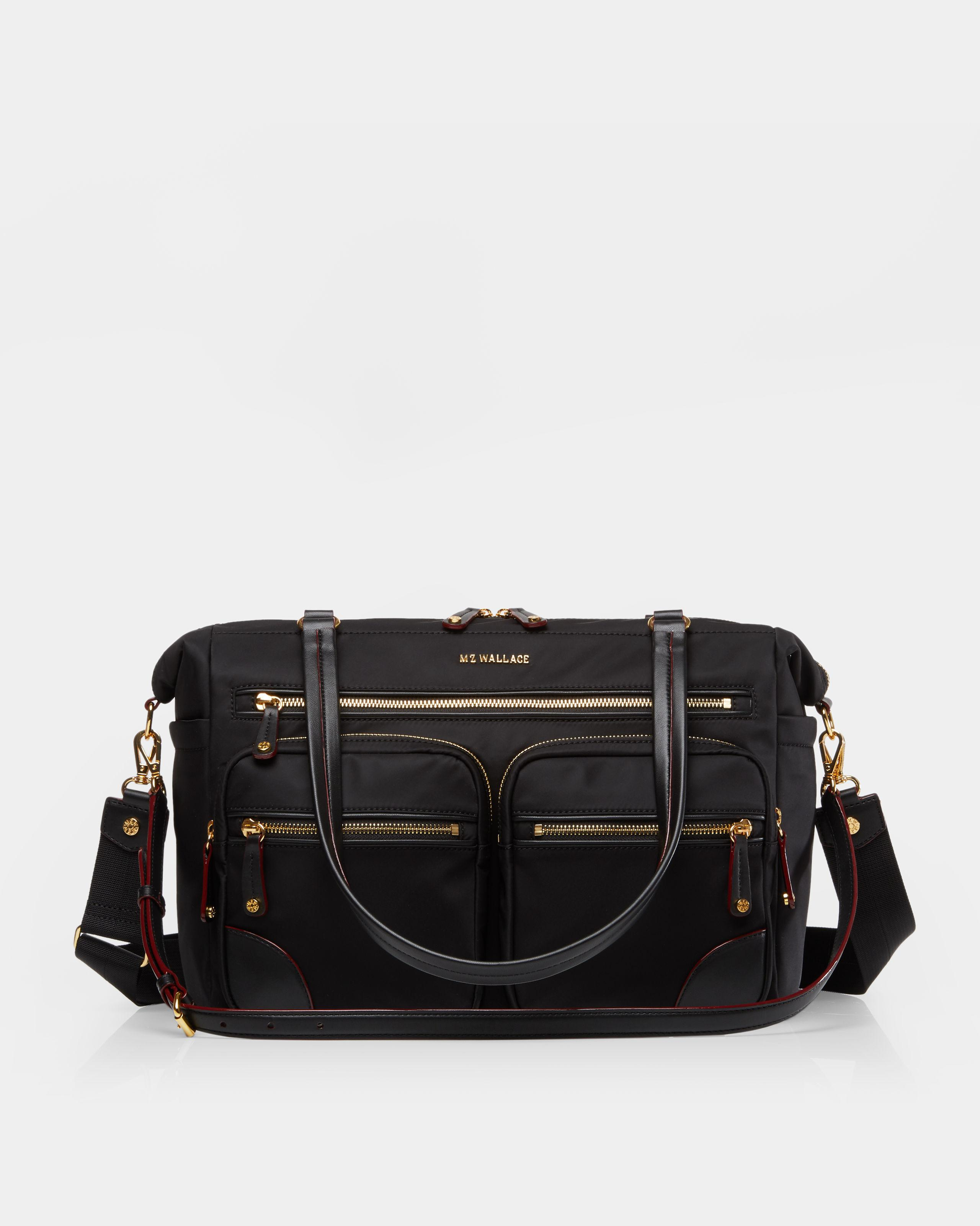 56ef2a1547 Lyst - MZ Wallace Extra Large Tribeca Traveler in Black