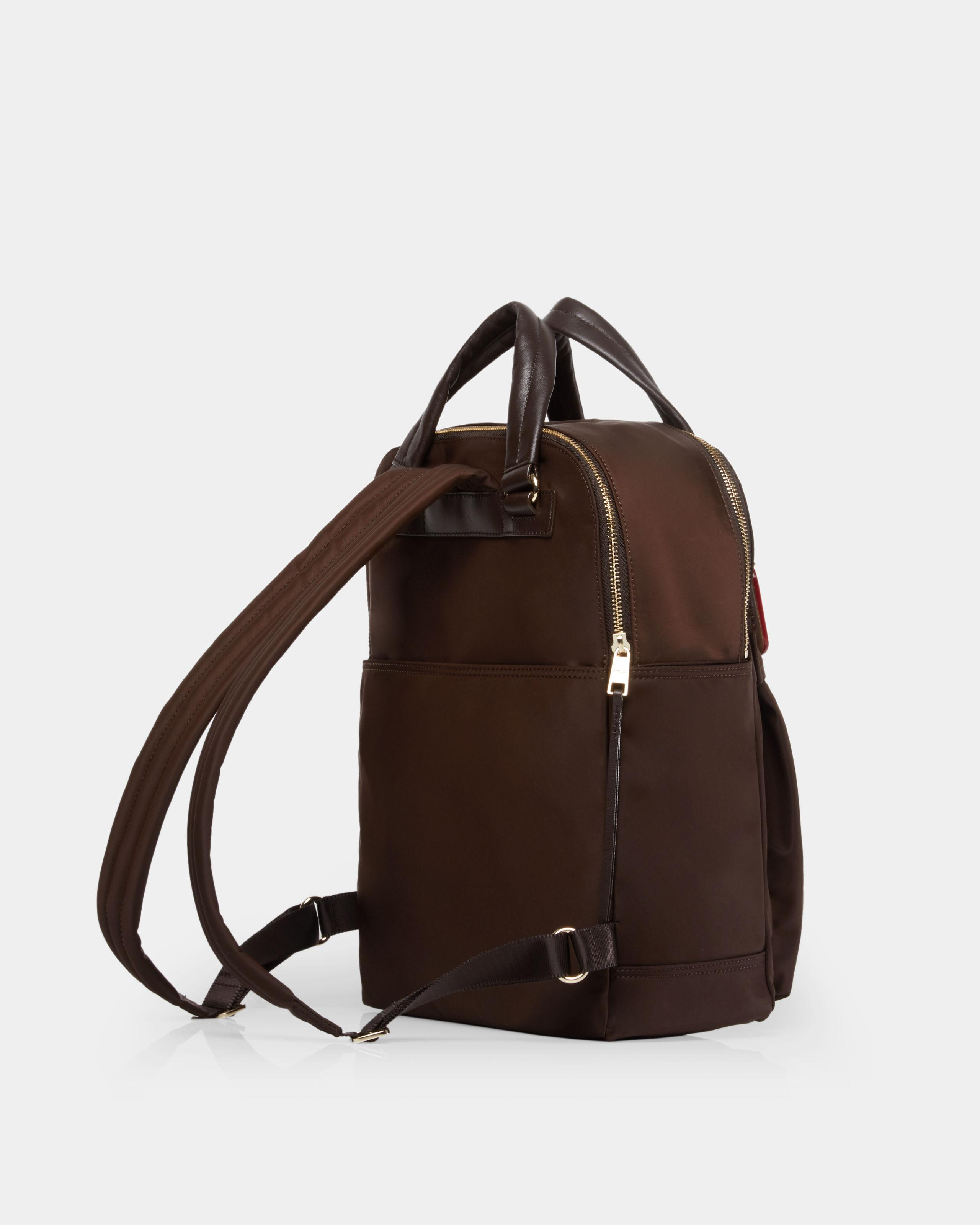ab10a8688462 Lyst - Mz Wallace Chocolate Jordan Backpack in Brown
