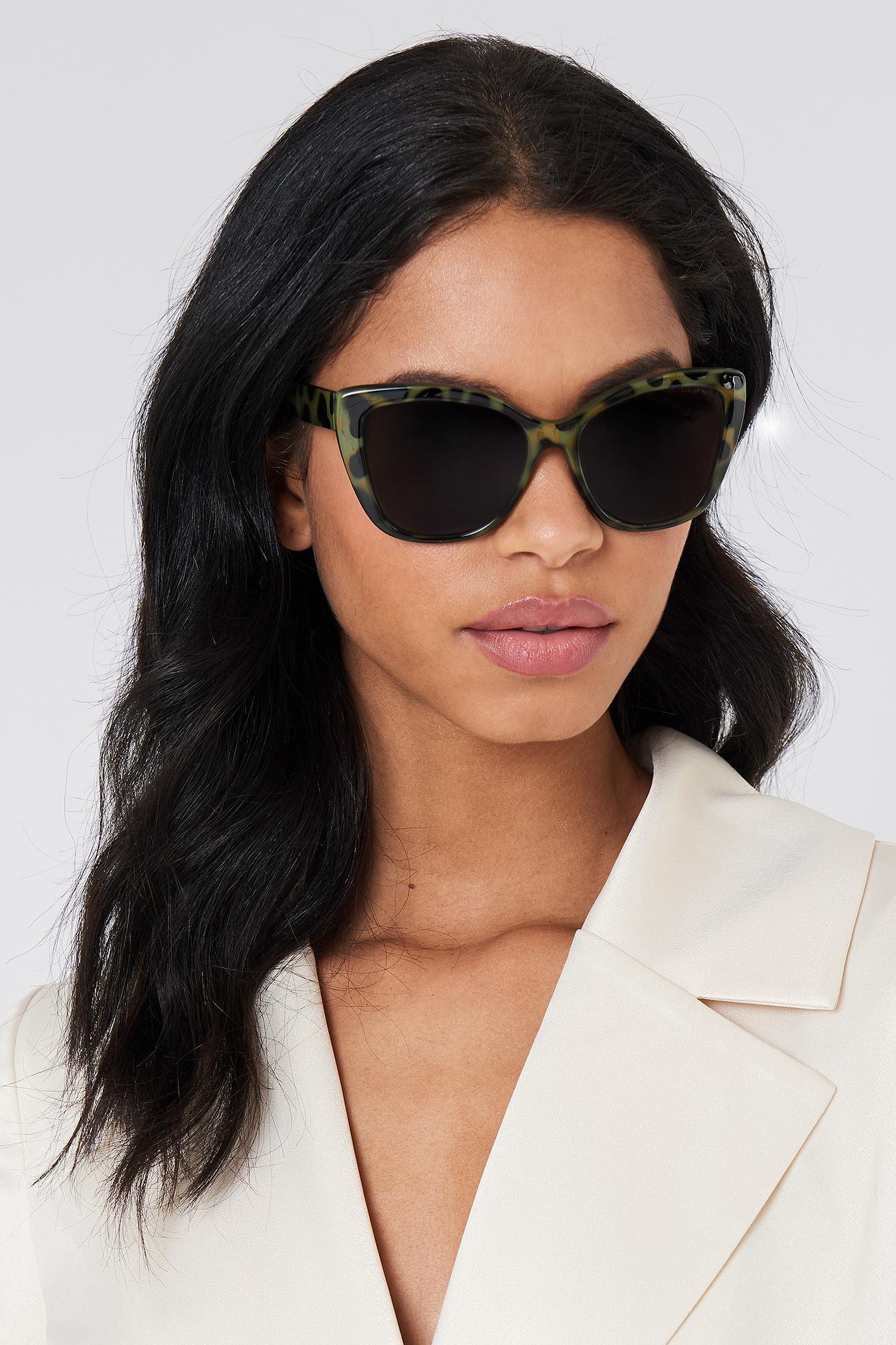 Cheap Monday Forever Sunglasses - Green,Multicolor