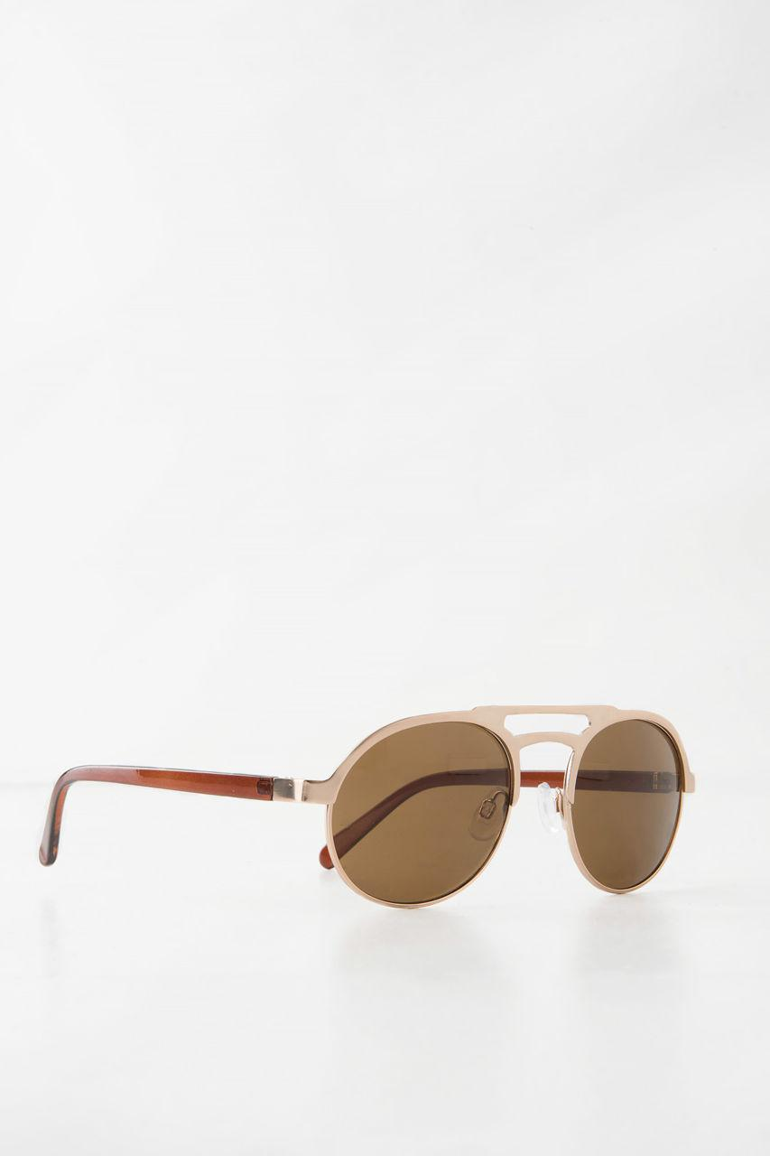 NA-KD Accessories Ladylike Sunglasses - Brown KTUj2a