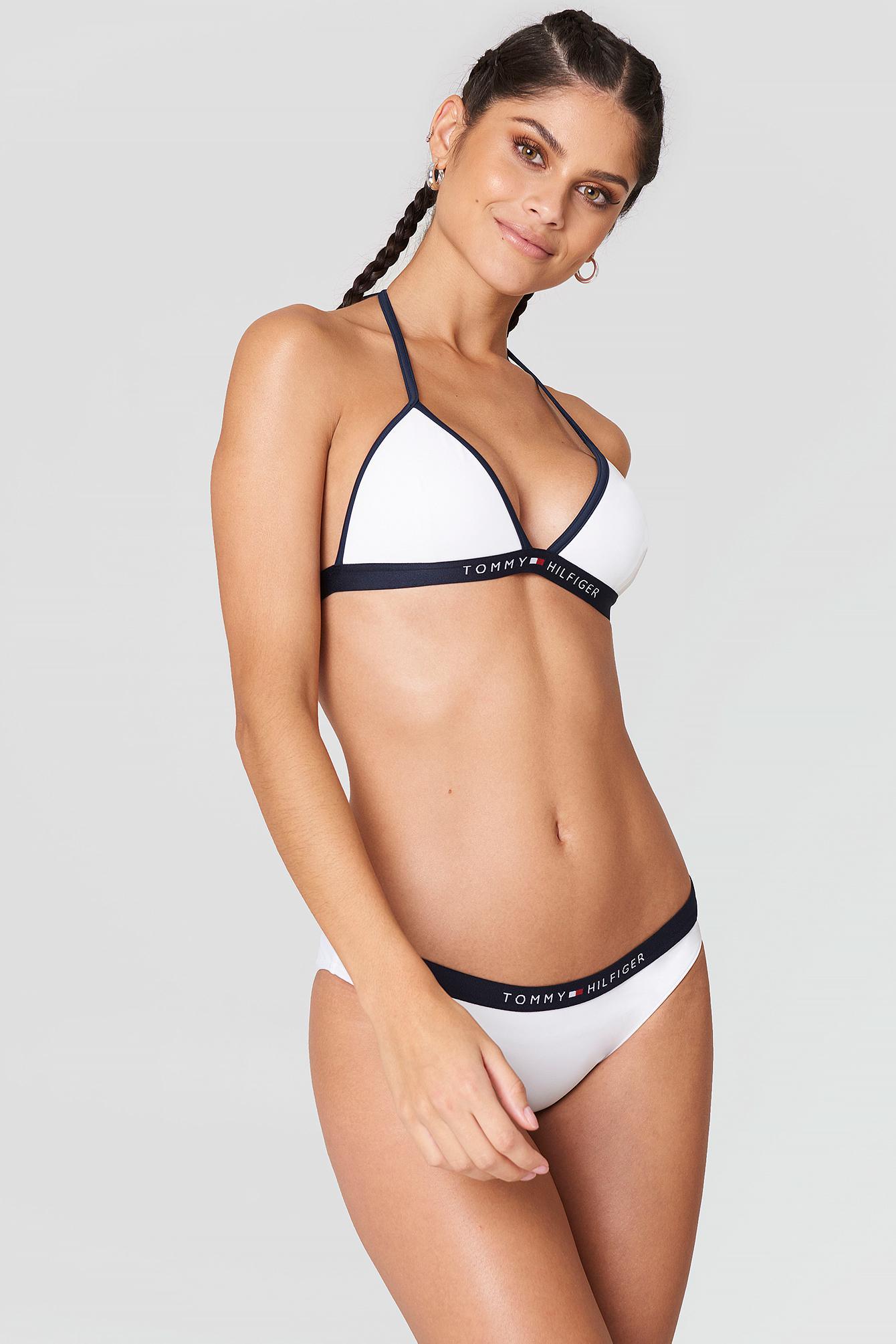 b3205c86f9 Tommy Hilfiger Bikini Bottom Bright White in White - Lyst