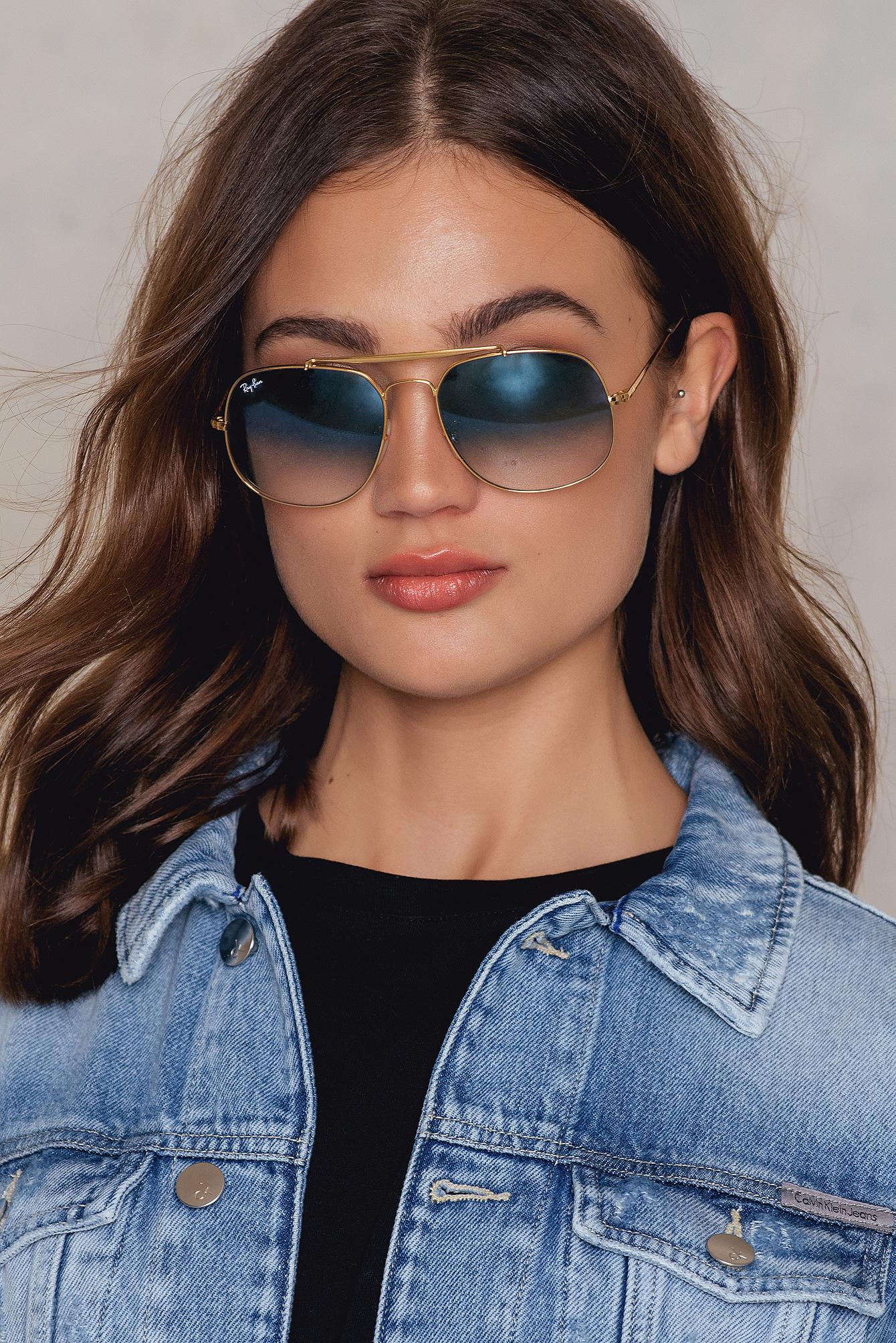 Ray-Ban The General in Blue - Lyst 29a35ad185
