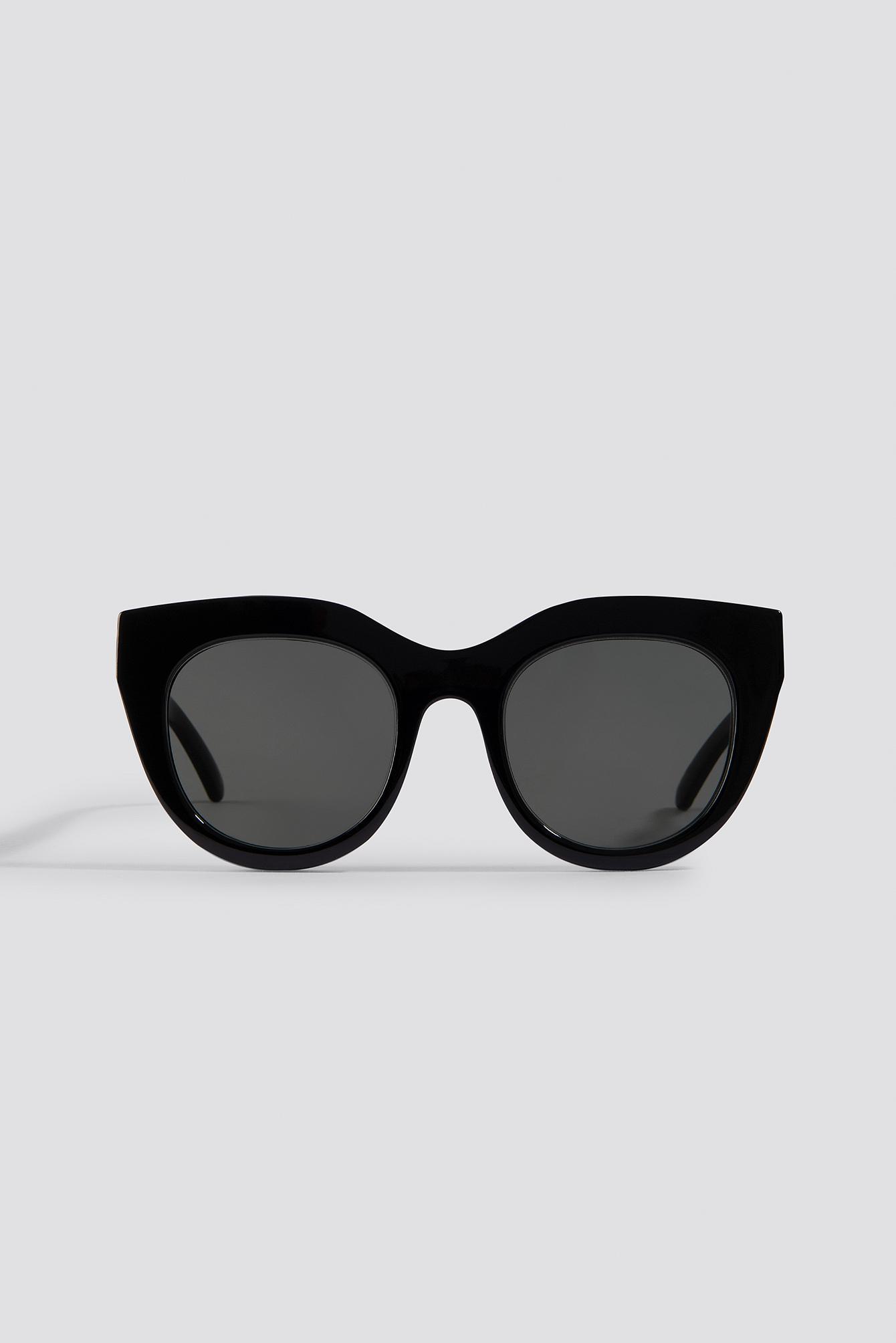 d833d28e188 Le Specs Air Heart Black gold in Black - Save 26% - Lyst