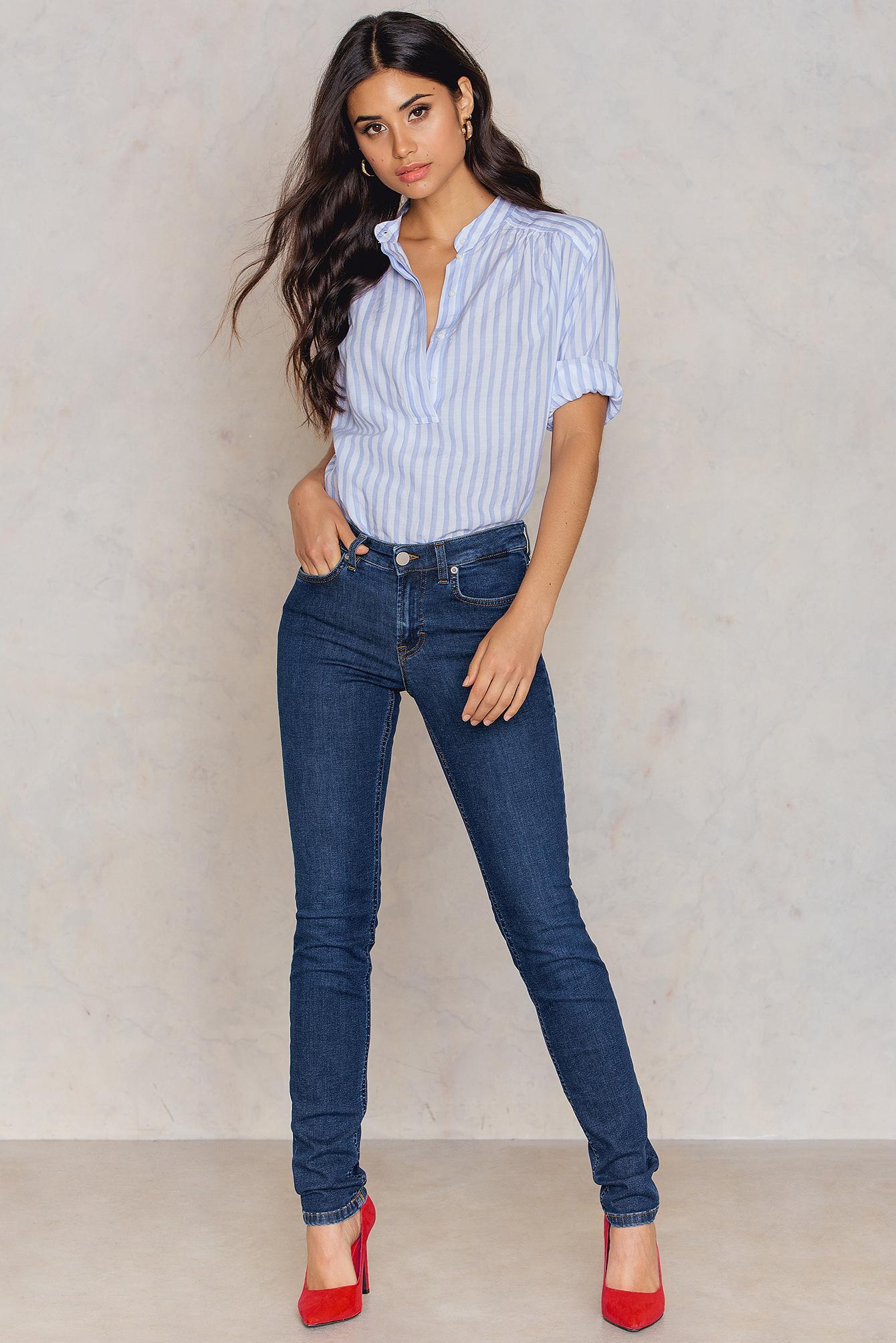 Womens Debbie Midnight Blue Wash Skinny Jeans Filippa K zSREcH5