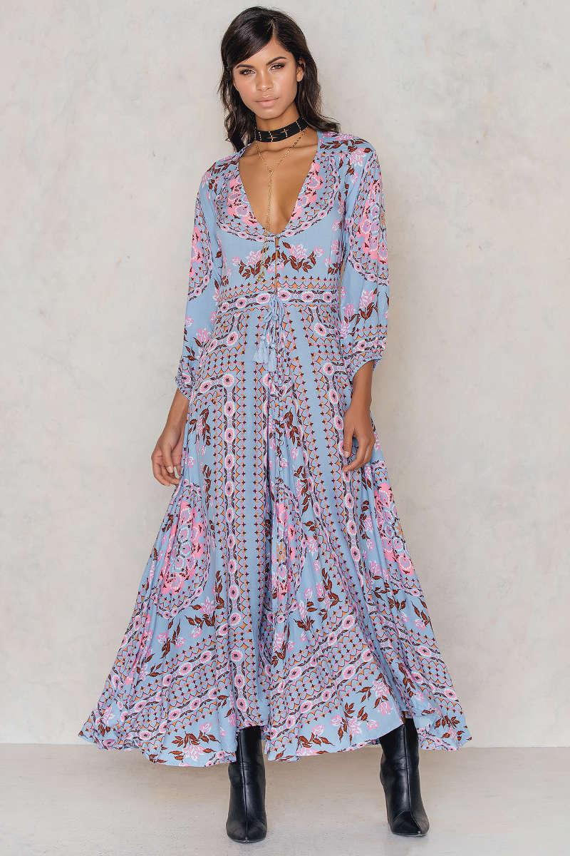 Spell Pandora Gown in Blue - Lyst