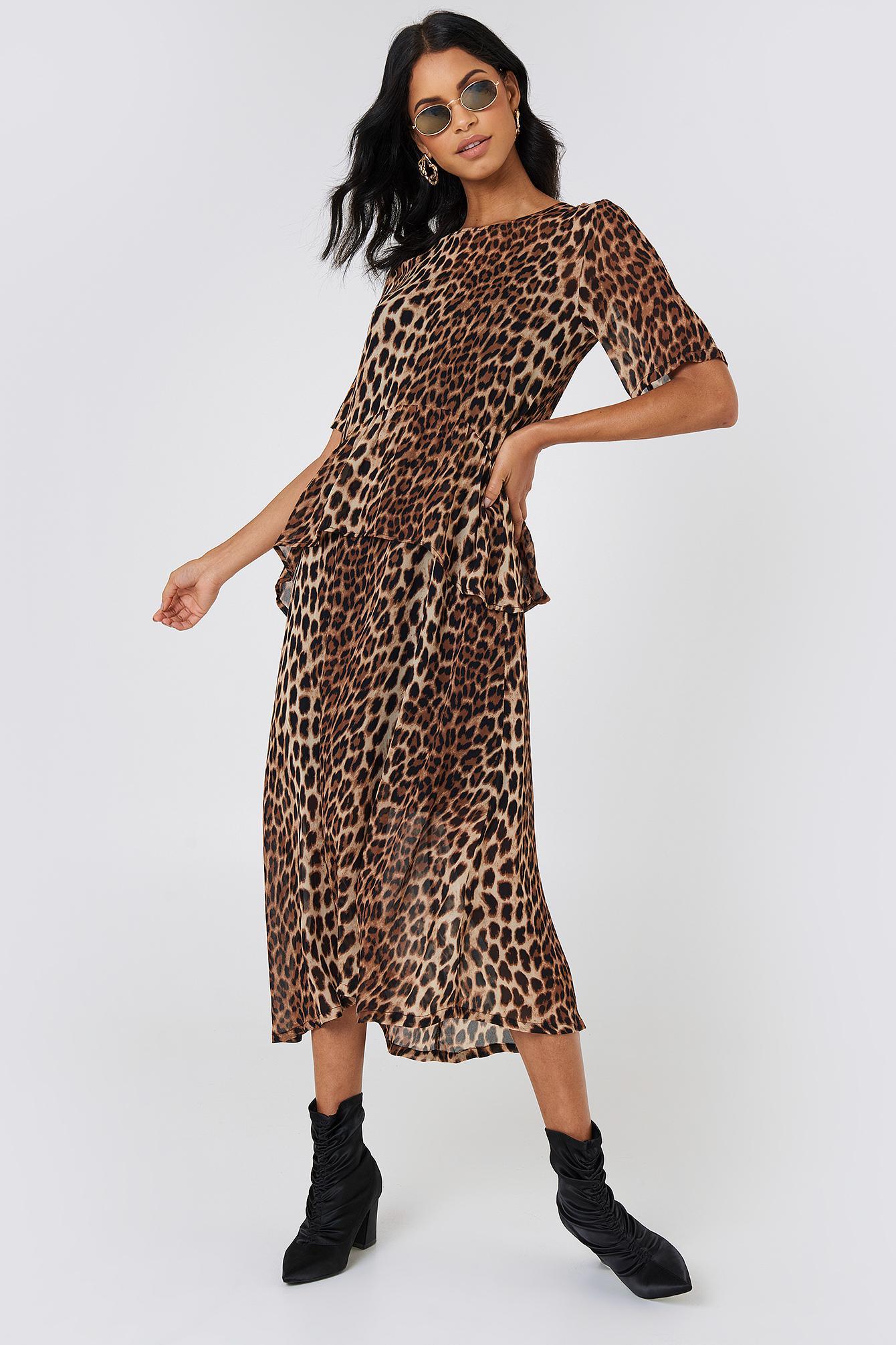 Lyst Just Dress In Ulrikka Brown Female Maxi rrARfq