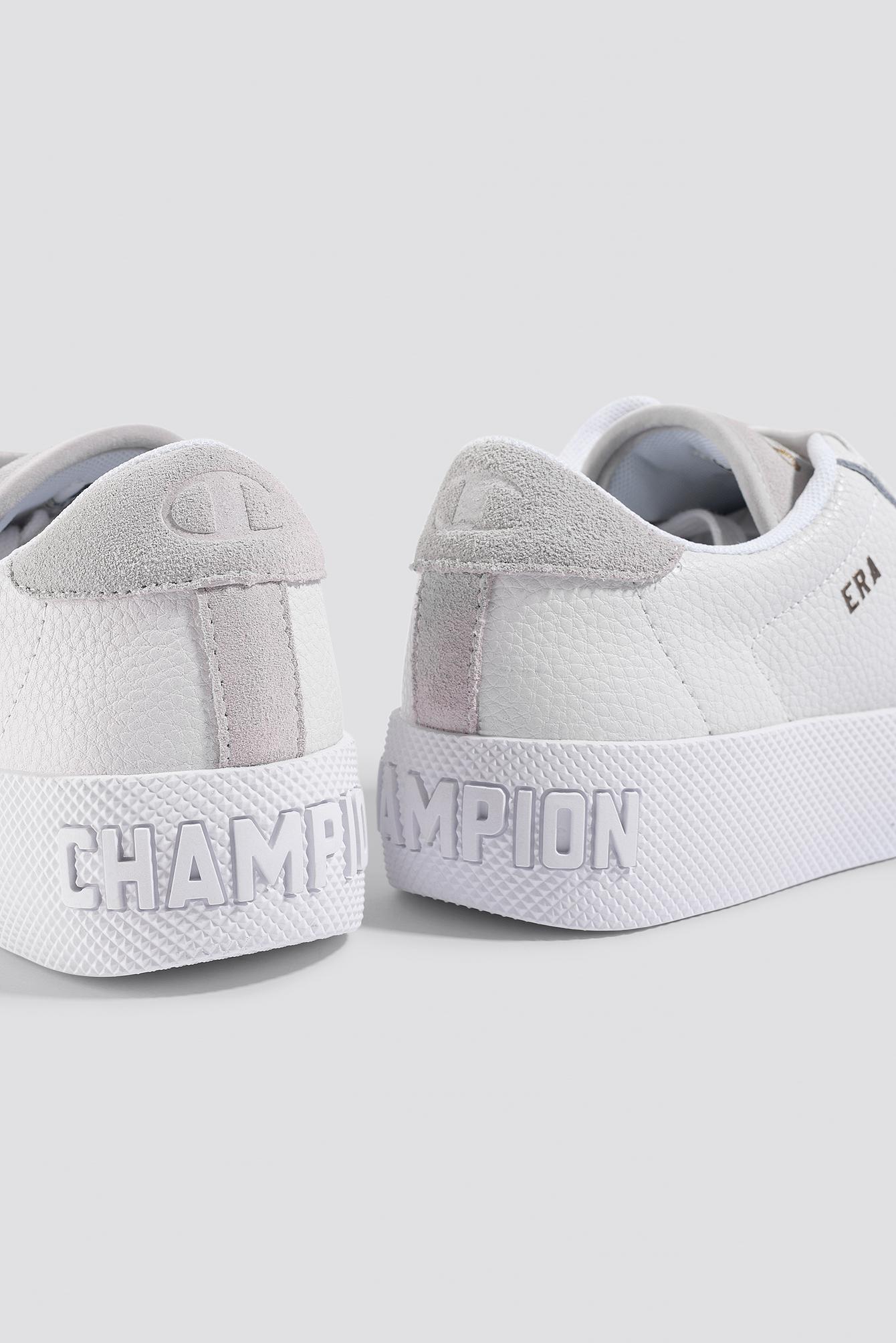 86f205af30c Champion - Era Leather Sneaker S10535 White - Lyst. View fullscreen