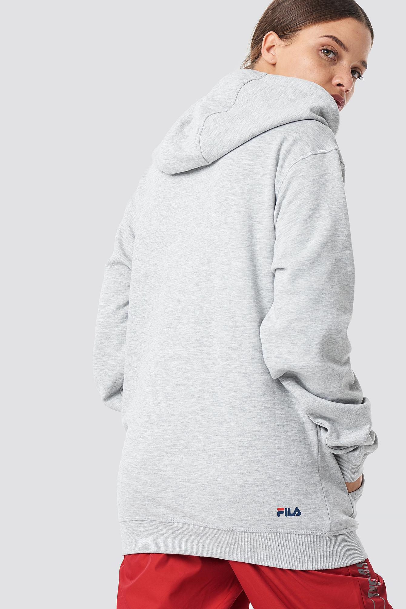 72885890aa2d Fila - Gray Classic Pure Hoody Kangaroo Light Grey Melange - Lyst. View  fullscreen