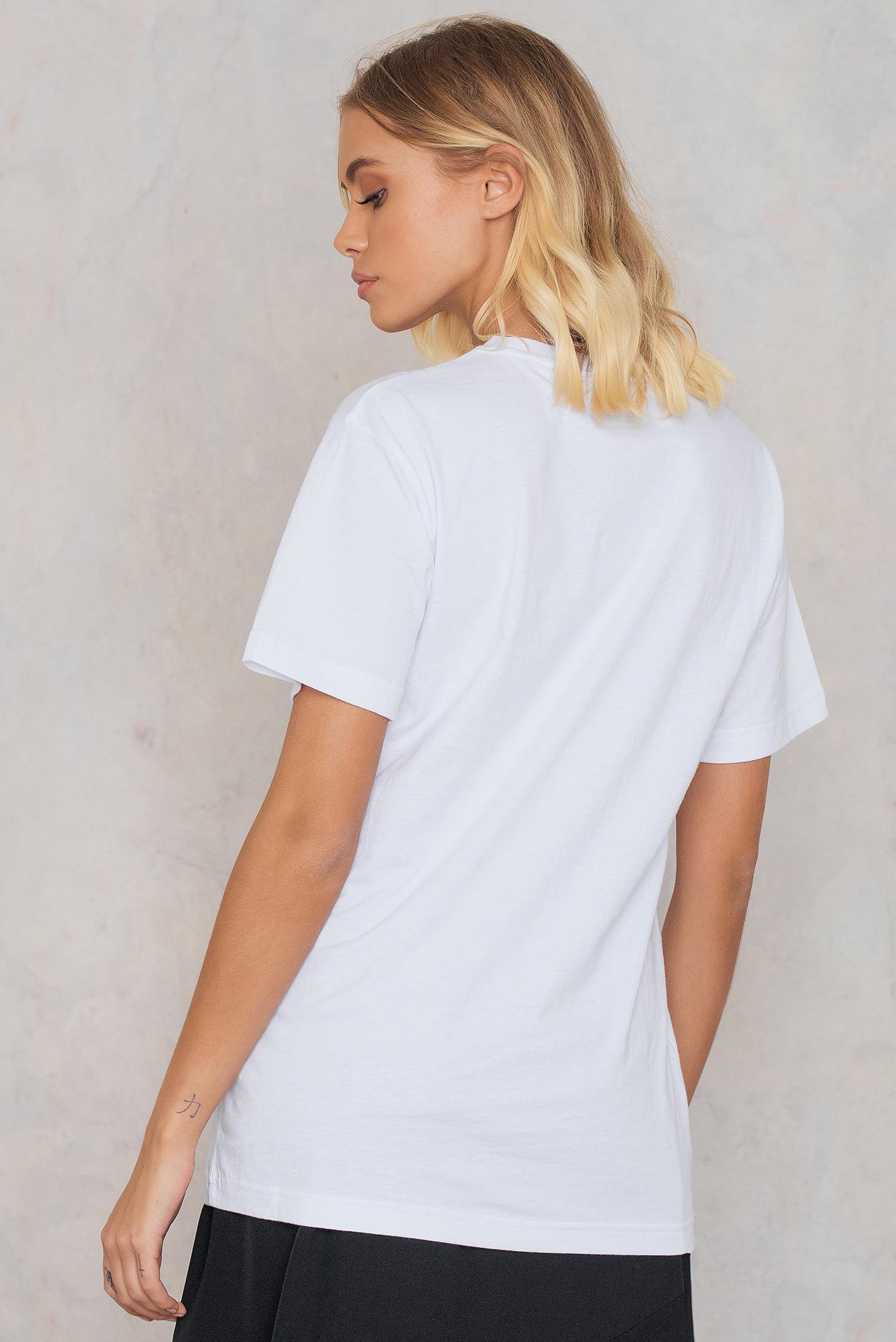 Lyst ellesse al albany t shirt in white for T shirt printing mobile al