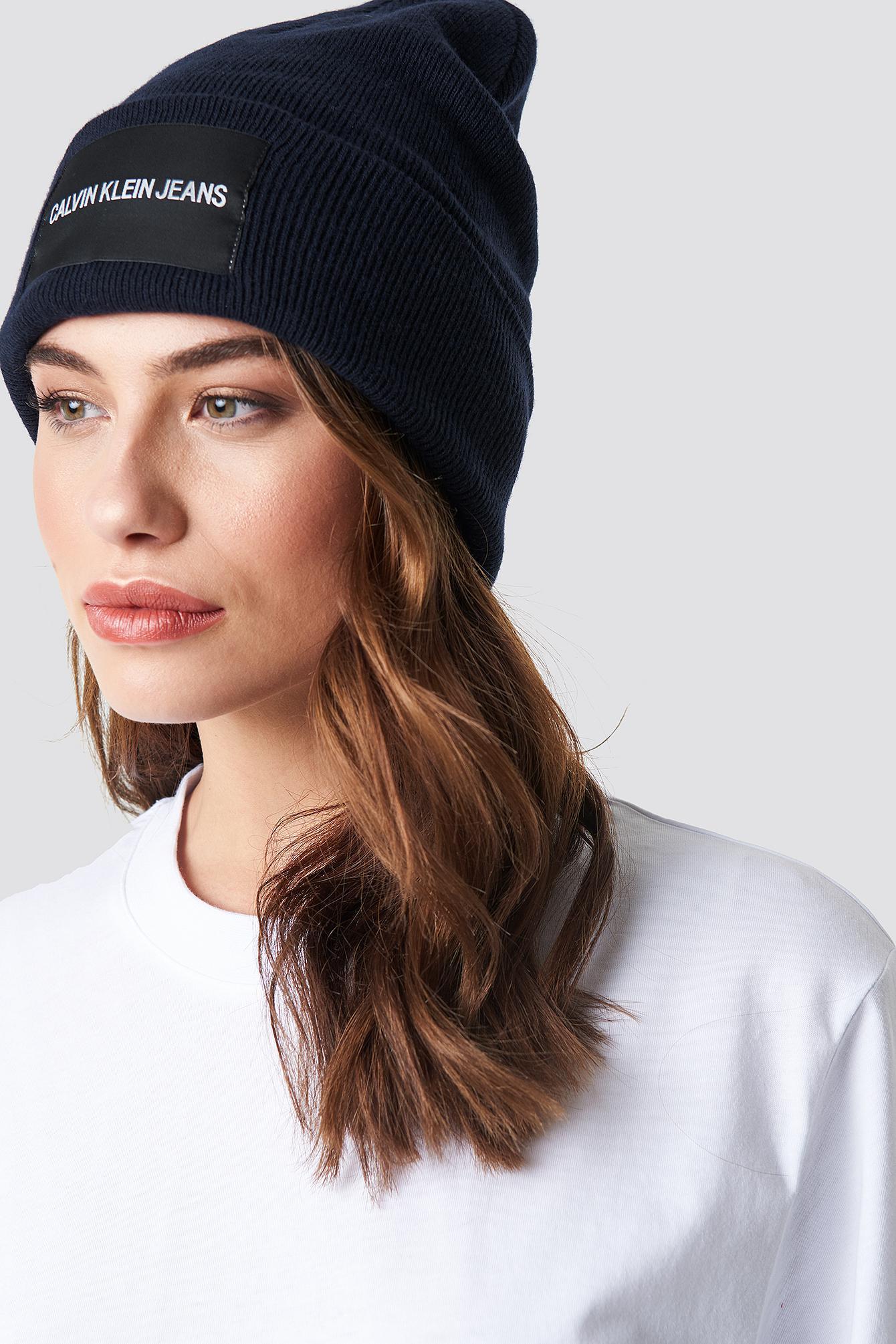 Lyst - Calvin Klein Hat in Blue 1416a1b1eb2