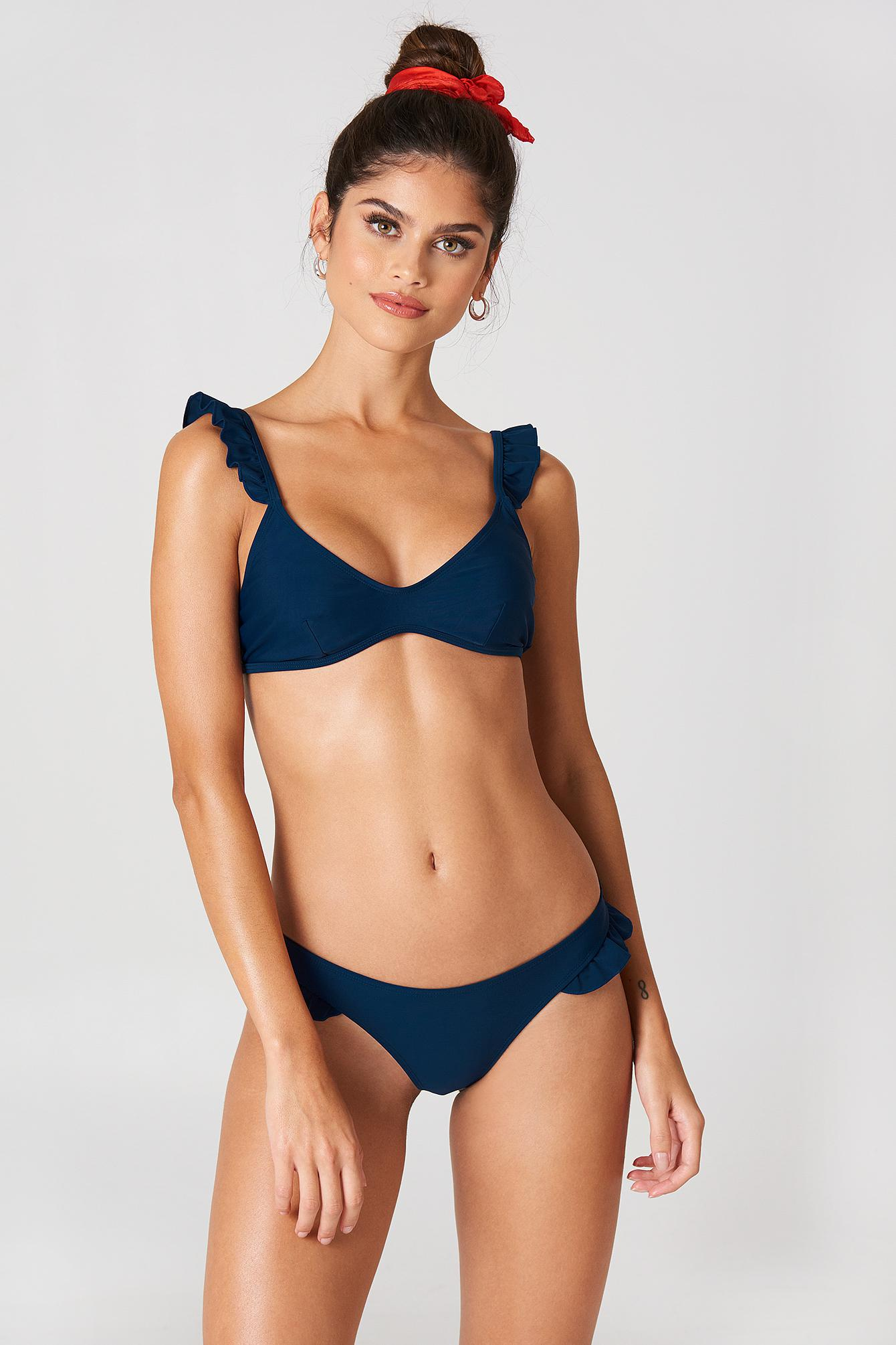 Love these blue bikini briefs black master