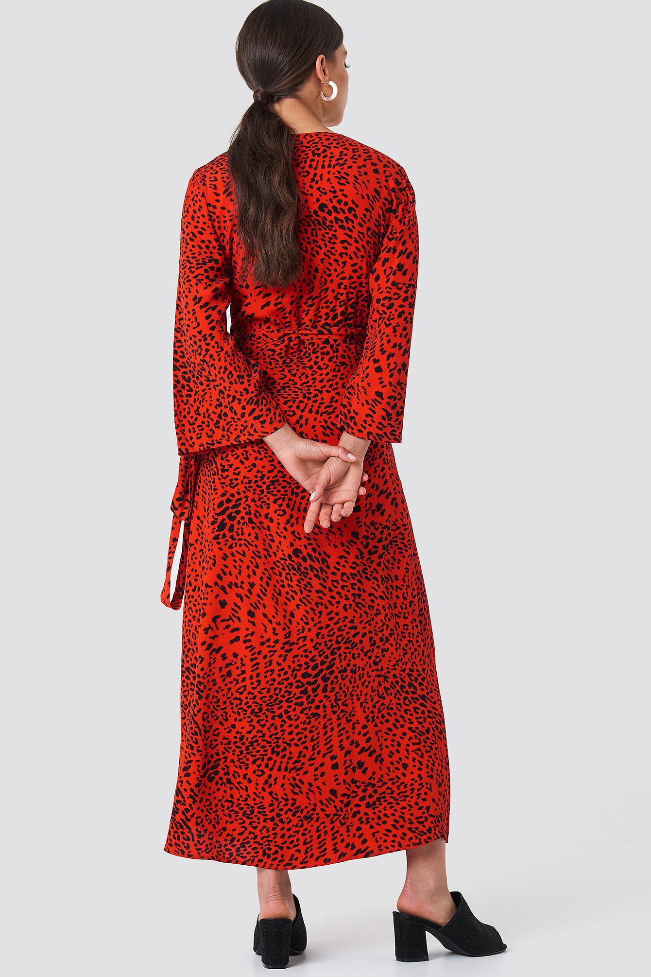 abeb66abbea4 Gestuz Loui Dress Red Leopard in Red - Lyst