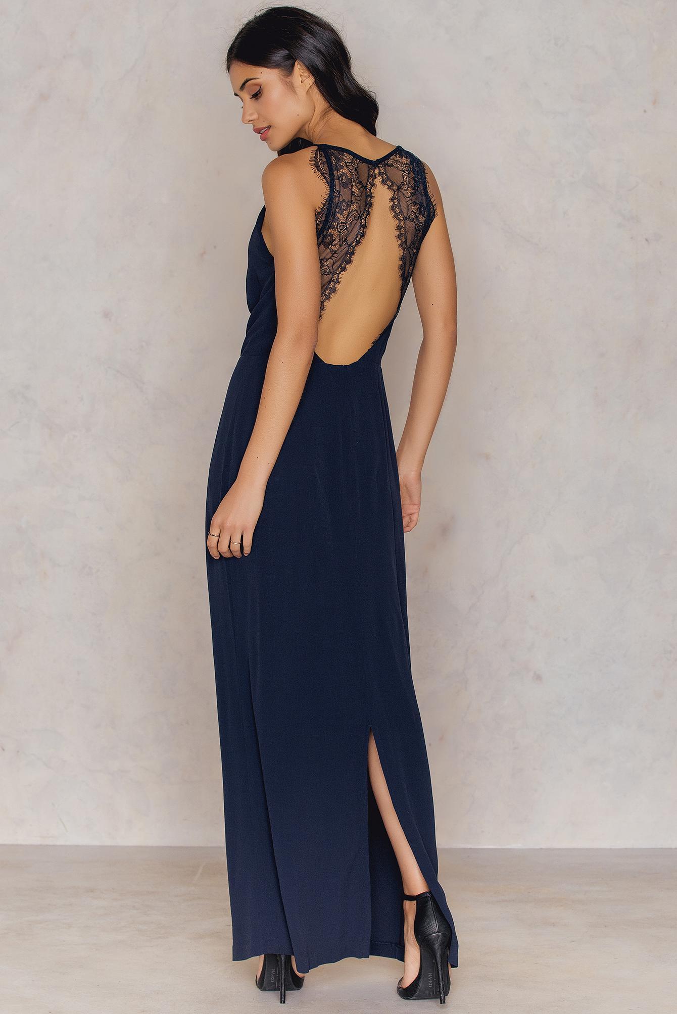 Lyst - Samsøe & Samsøe Willow Dress Long Total Eclipse in Blue