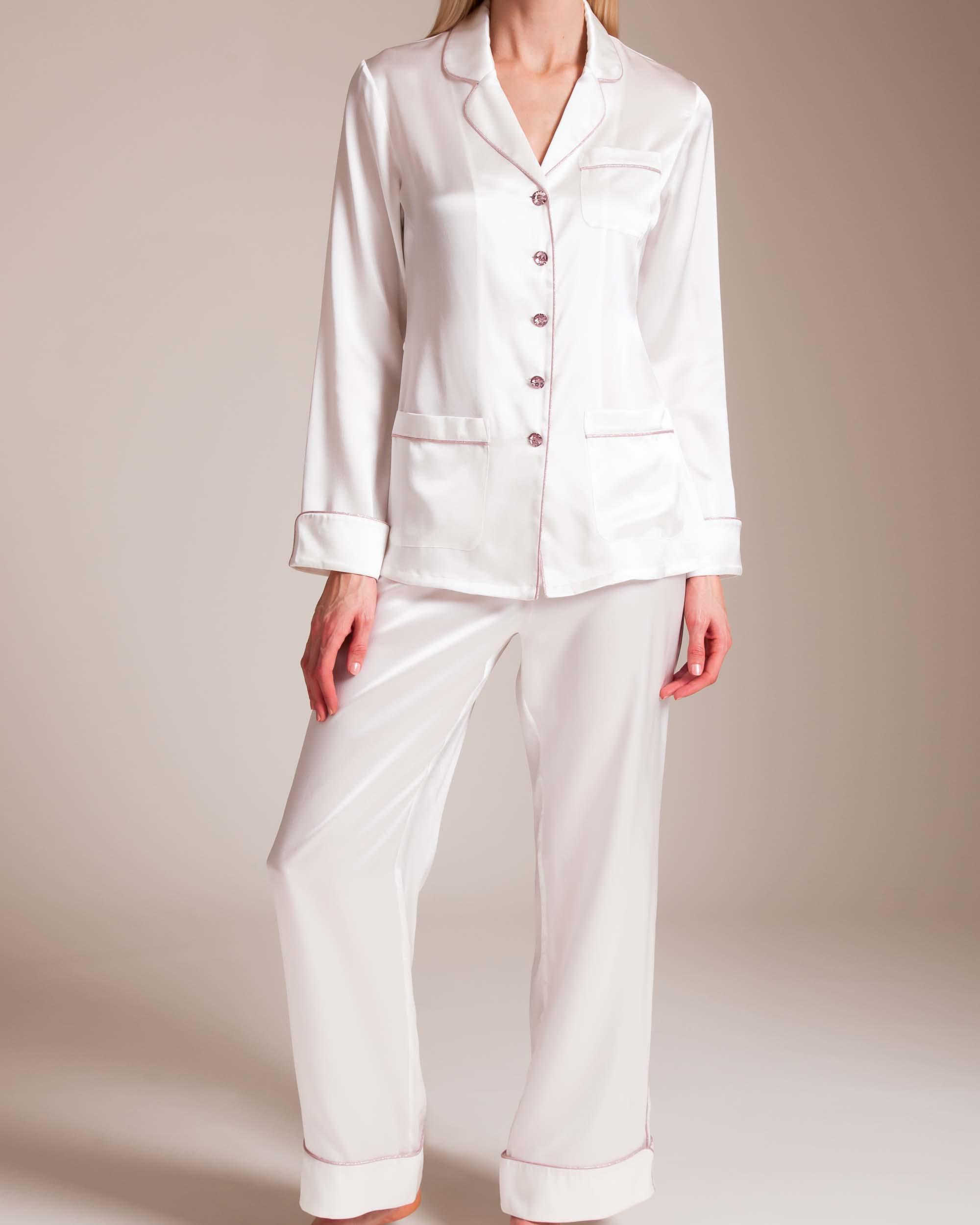 Olivia Von Halle. Women s Coco Celia Silk Pajama 945404b72