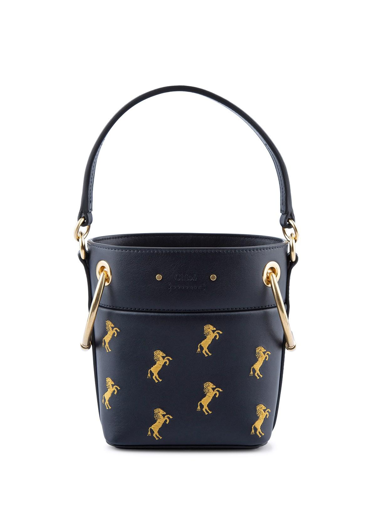fbf95031 Chloé Mini Roy Bucket Bag - Lyst