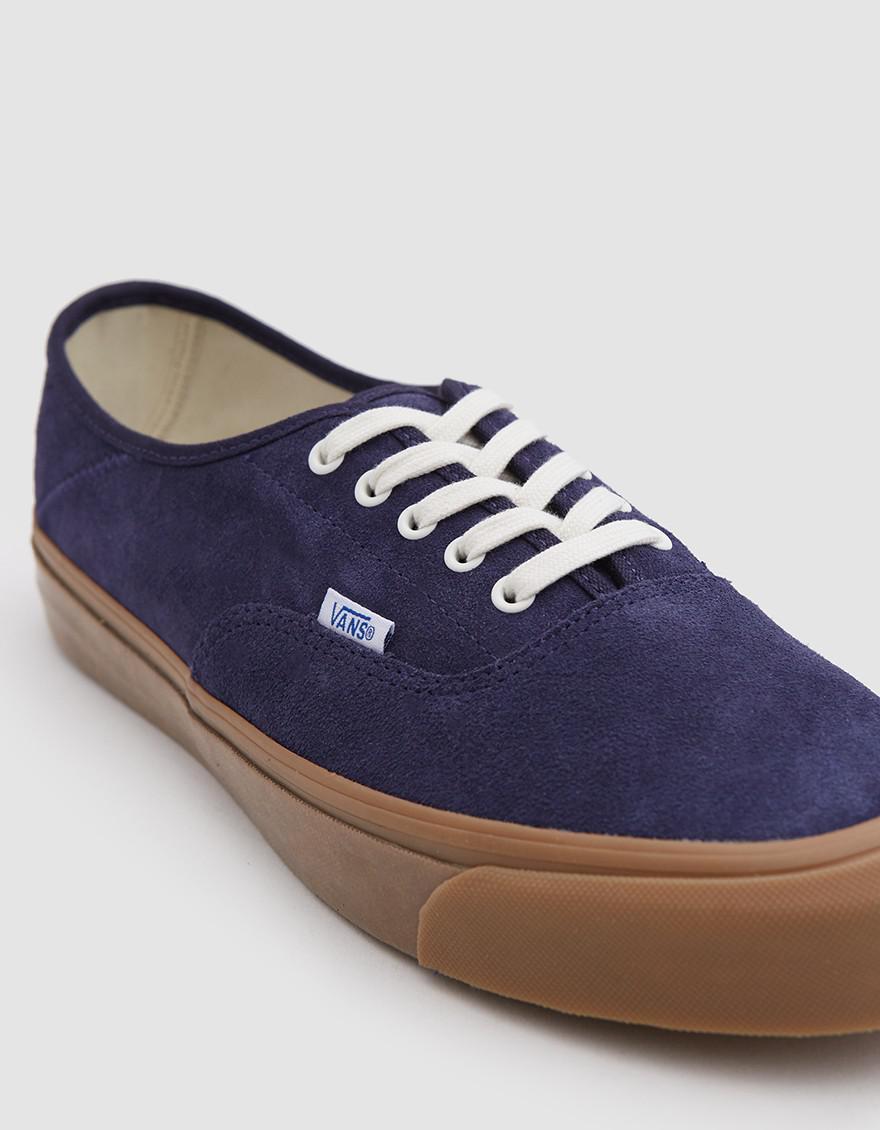 6f0c02d68cd Lyst - Vans Og Style 43 Lx Suede Sneaker in Blue for Men
