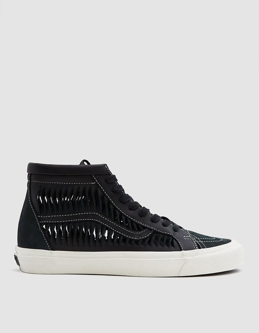 2b14085114742d Vans Twisted Leather Sk8-hi Reissue Lx Sneaker in Black for Men - Lyst