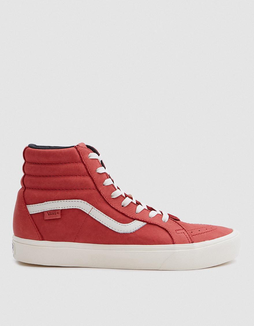 f7dd43a86d Vans Horween Sk8-hi Reissue Lite Lx In Lollipop Red in Red for Men ...