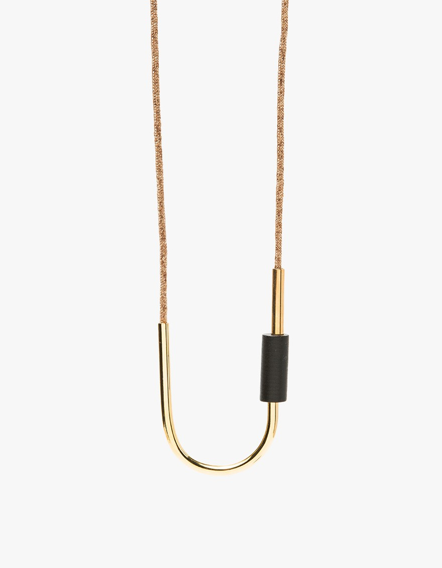 maslo jewelry lyst maslo jewelry tipping point necklace in metallic 5398