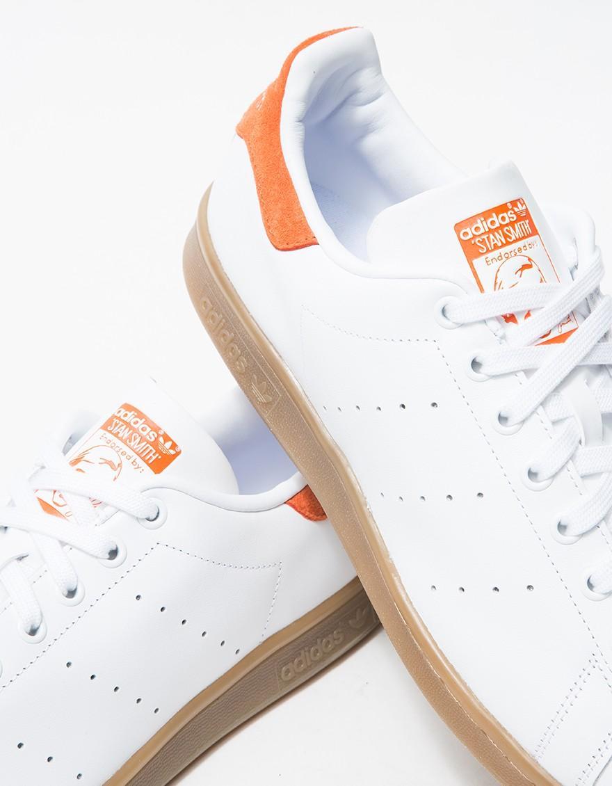 Lyst adidas Originals Stan Smith Gum Craft naranja en naranja para hombres