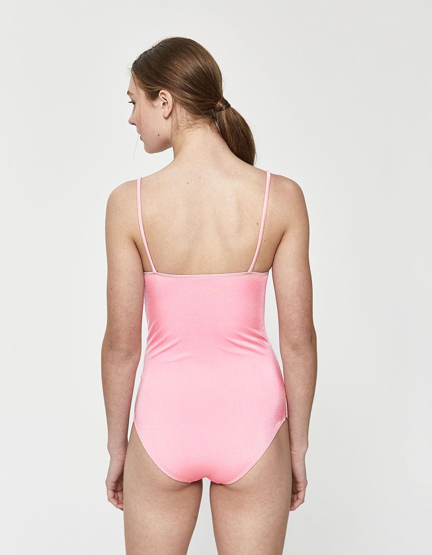 956cfc459ab Baserange Soft Swimsuit in Pink - Lyst