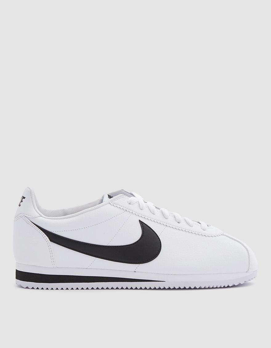 finest selection 2d30e b77d1 Nike. Men s White Classic Cortez Leather Shoe