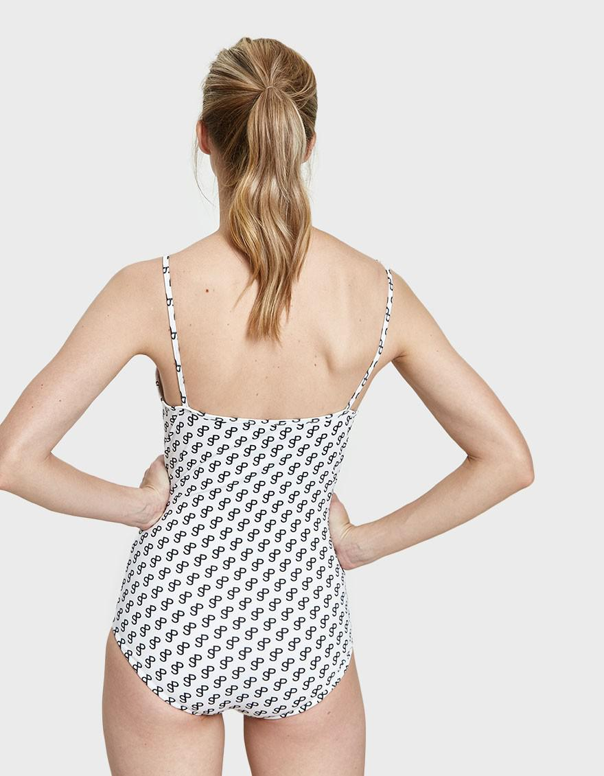 6d51c86f3f8b3 Saks Potts Softice Sp White Swimsuit in White - Lyst