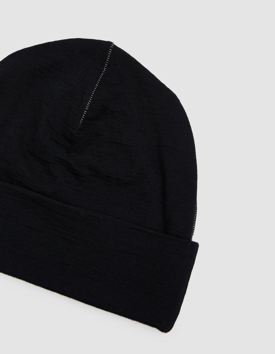 Lyst - Satisfy Cloud Merino 160 Running Hat in Black for Men 829aee46701