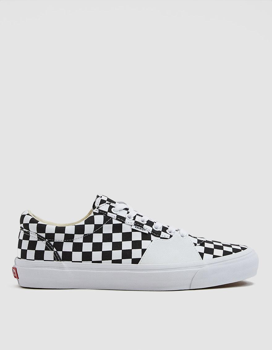 e1064a74f77707 Lyst - Vans Style 205 Checkerboard Sneaker in White for Men