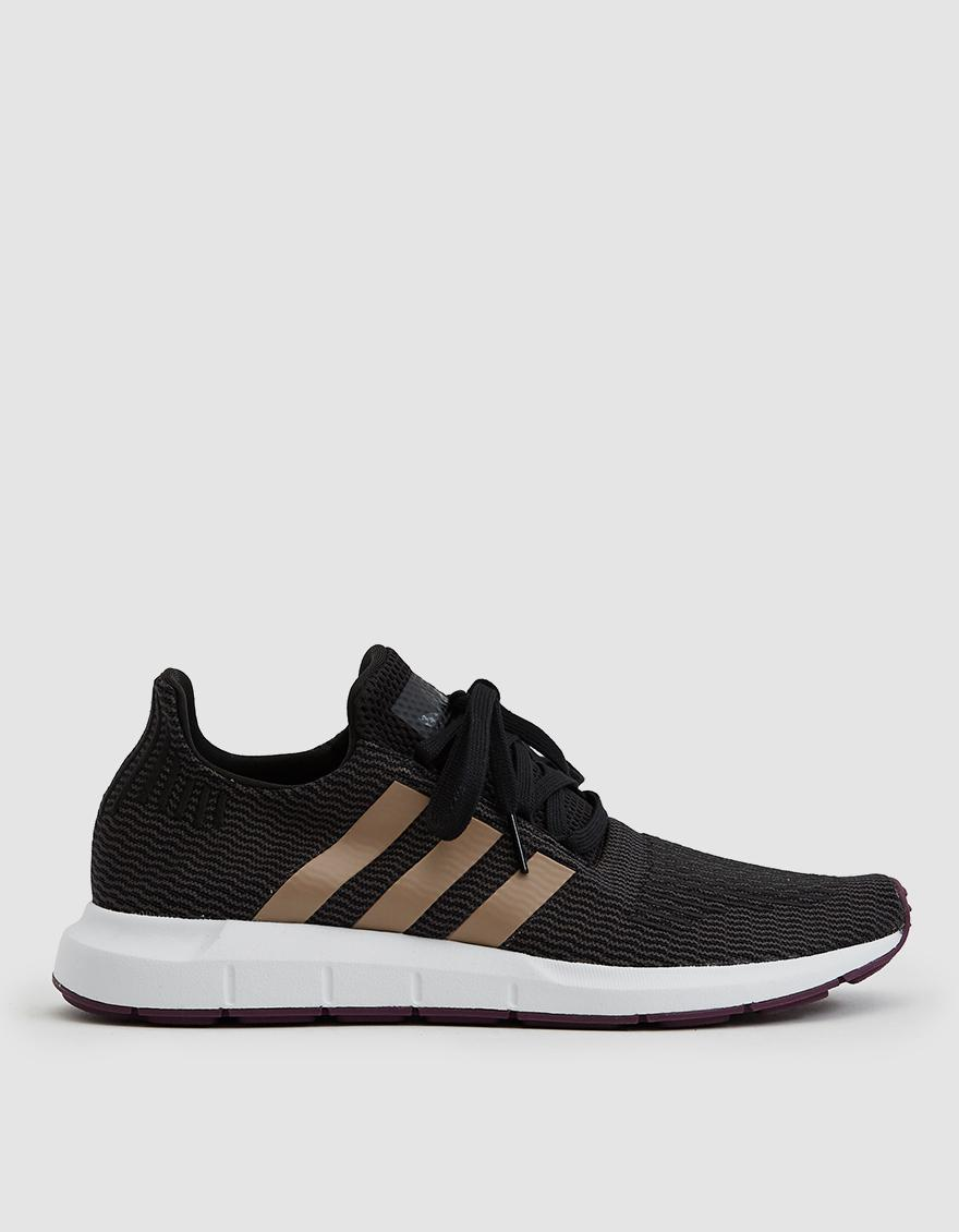 401a88c02 Lyst - Adidas Swift Run Primeknit Sneaker in Black