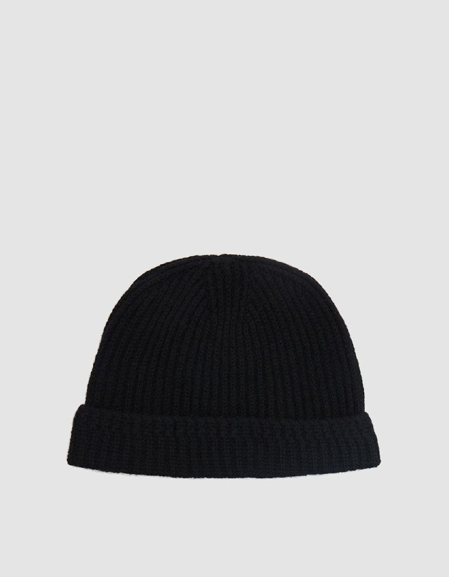 06fc86a6680 Lyst - Visvim Ribbed Knit Beanie in Black for Men - Save 22.173913043478265%