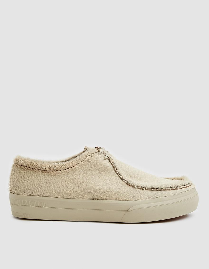 37a5b9fac8 Dries Van Noten Hairy Low Top Sneaker in Natural for Men - Lyst